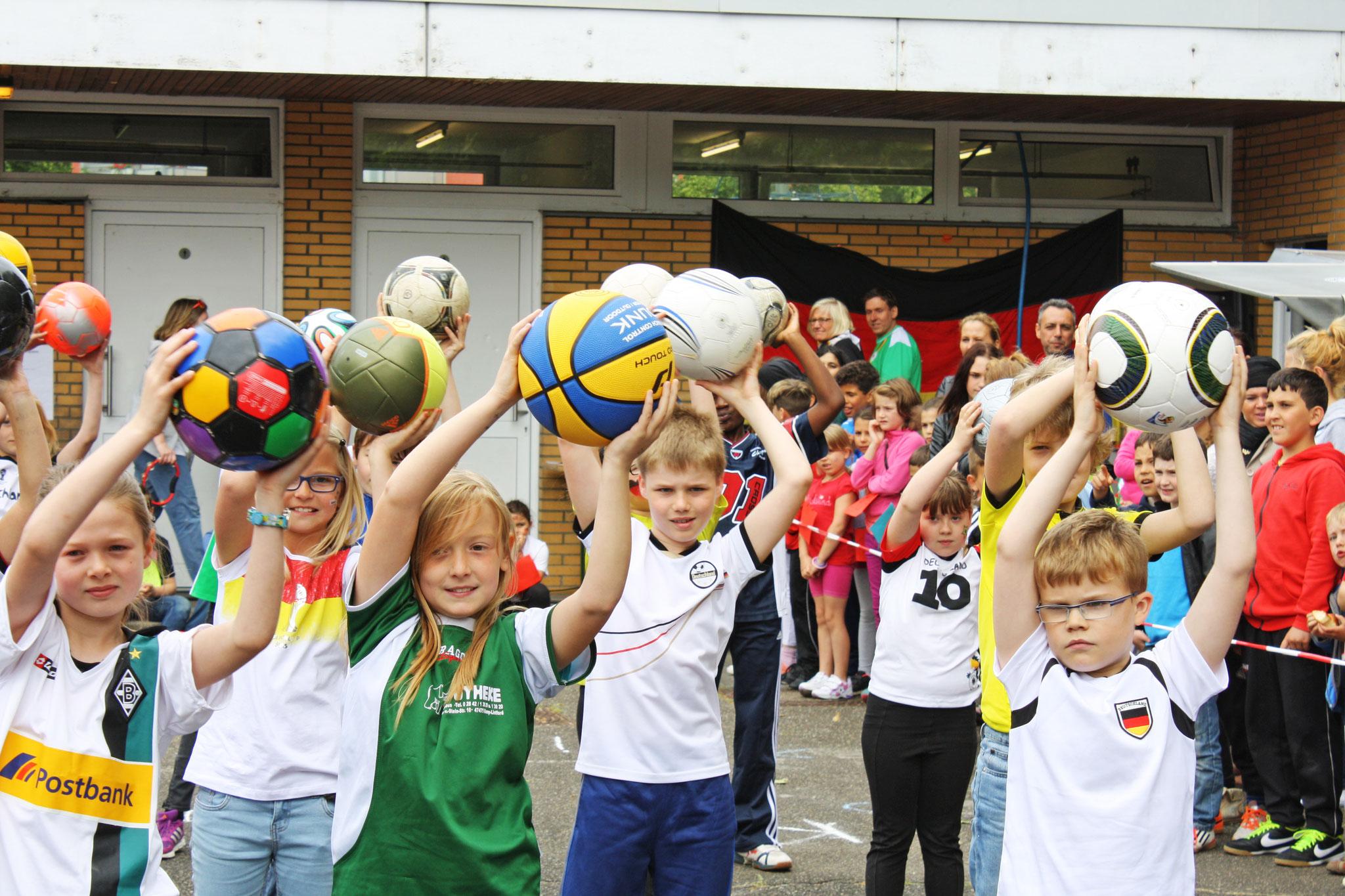 """Schulfest """"ERS - Die WM zu Gast"""" (2014)"""