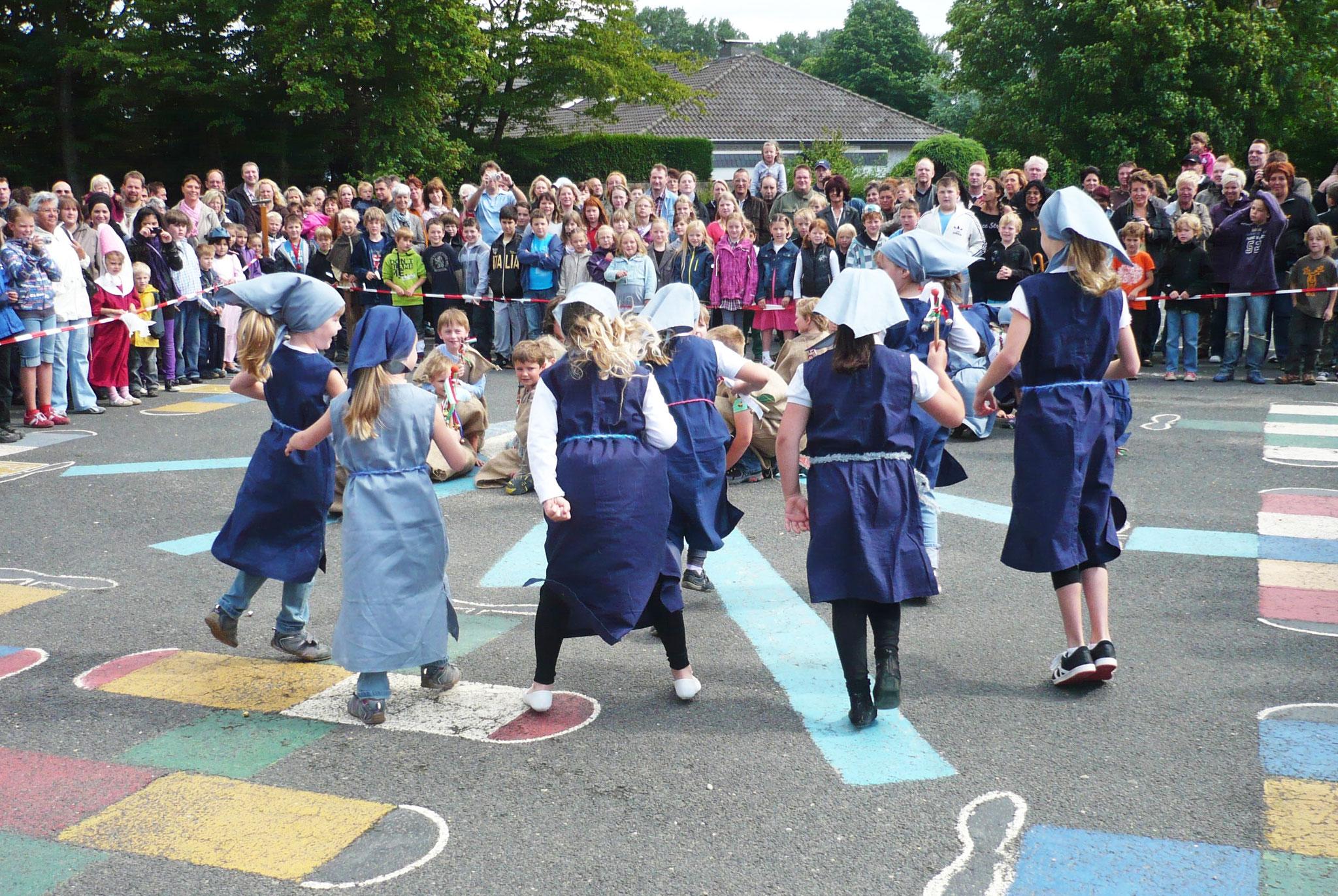 Ritterfest zum Abschluss der Projektwoche (2011)