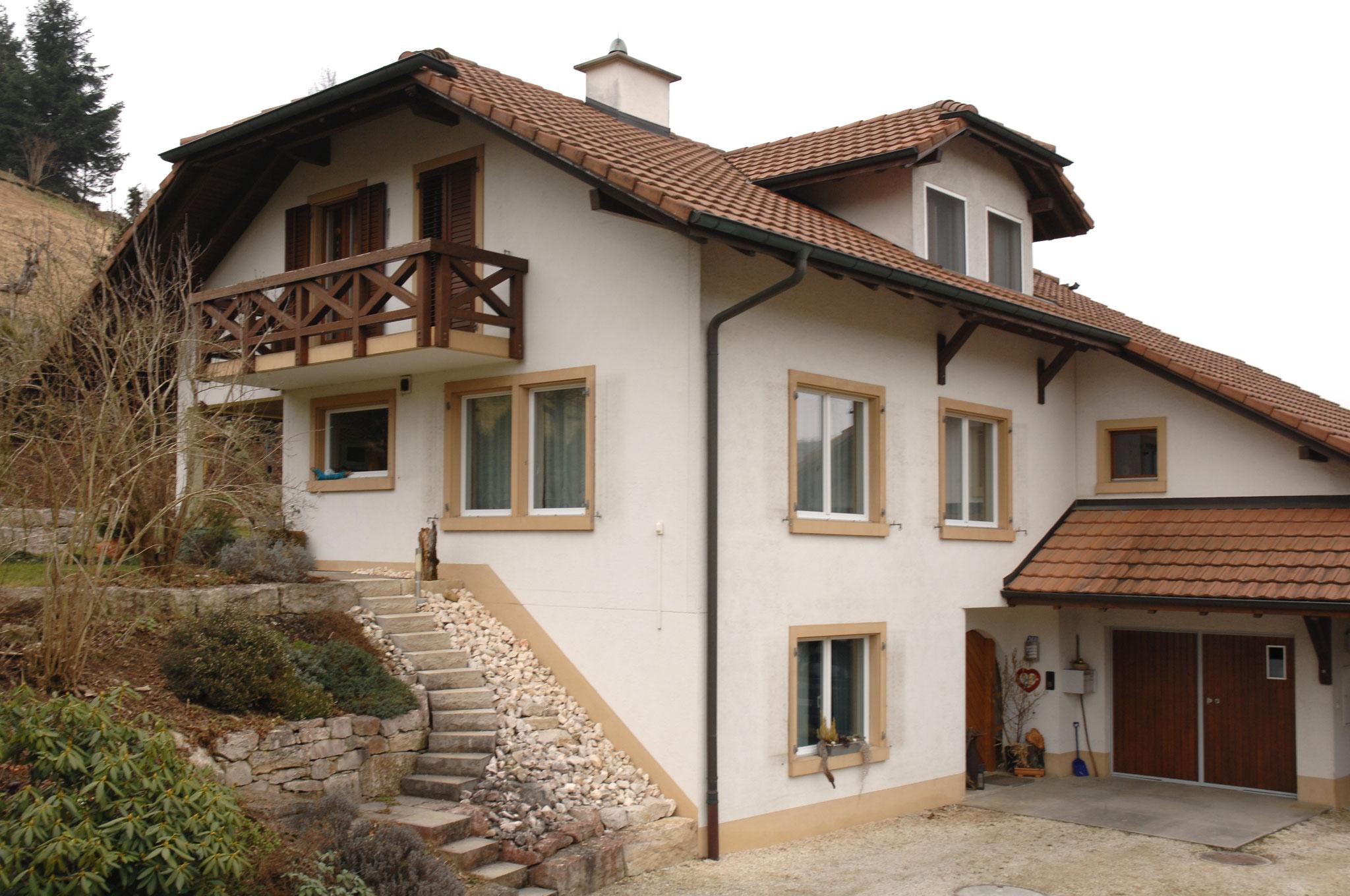 Fassade vor der Renovation