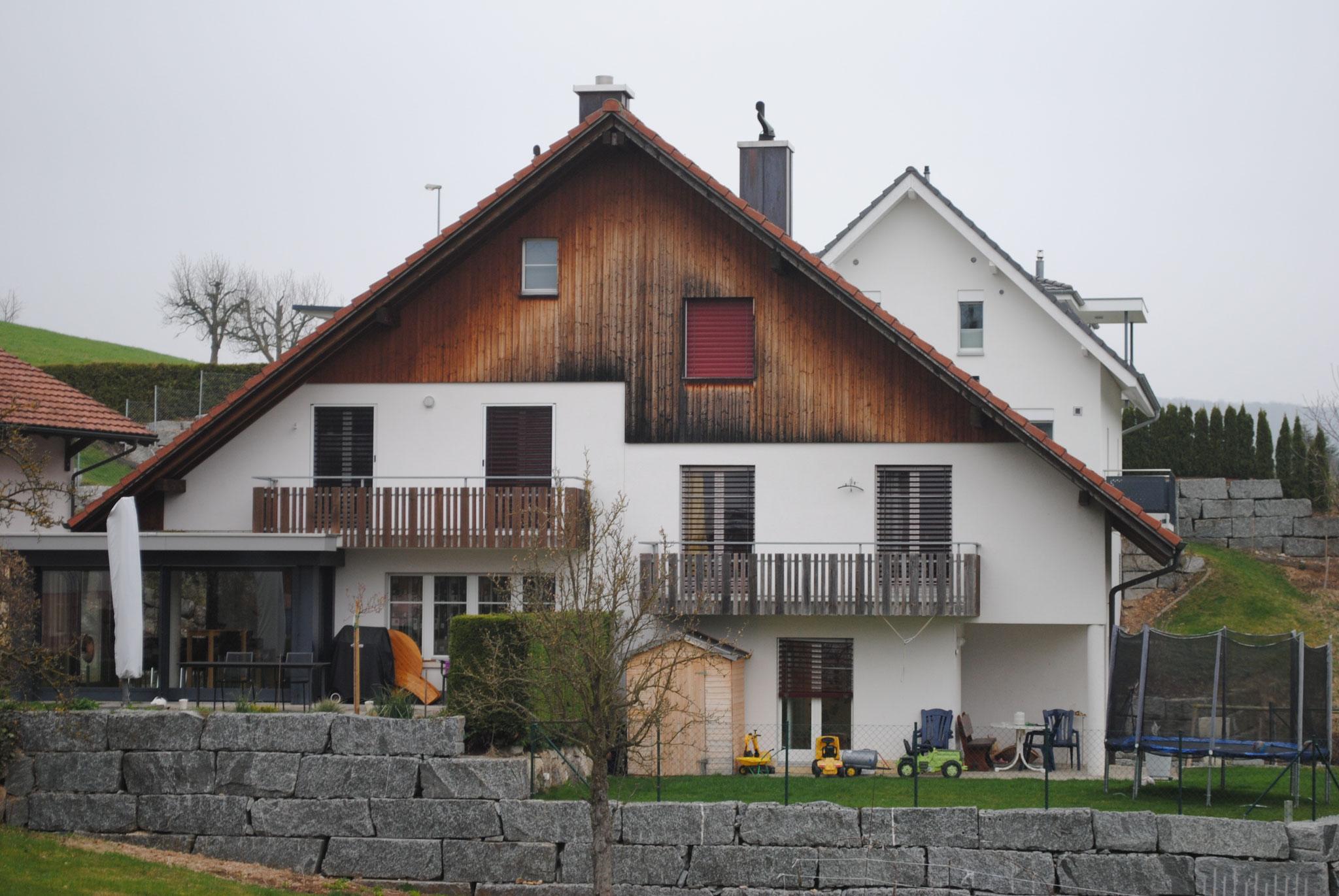 Fassade in Wölflinswil