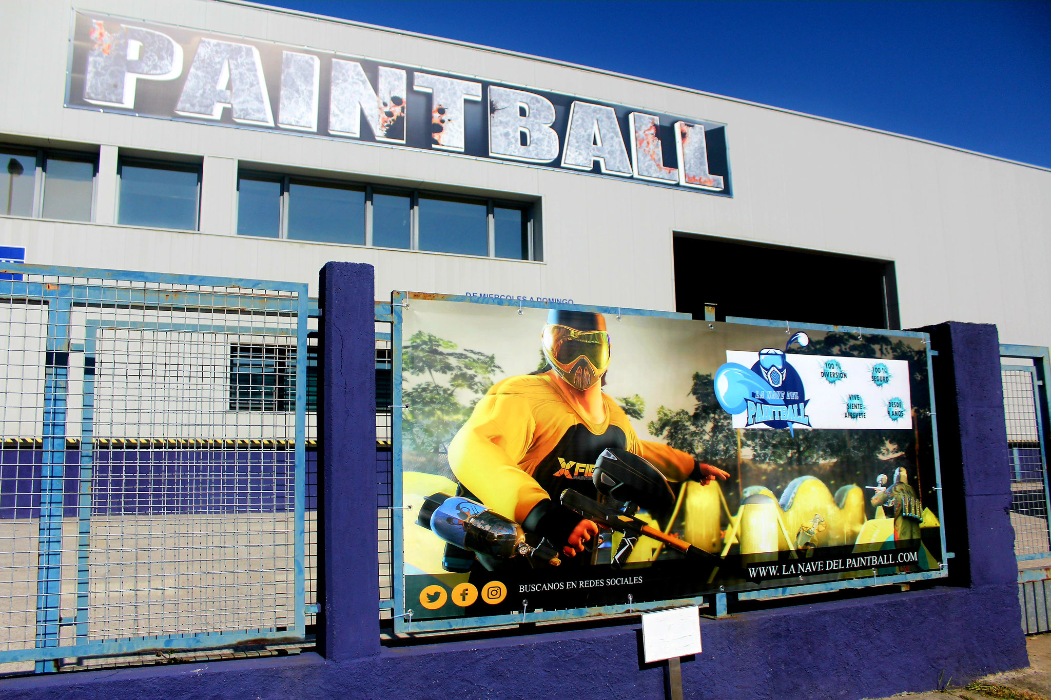 Paintball Publicidad