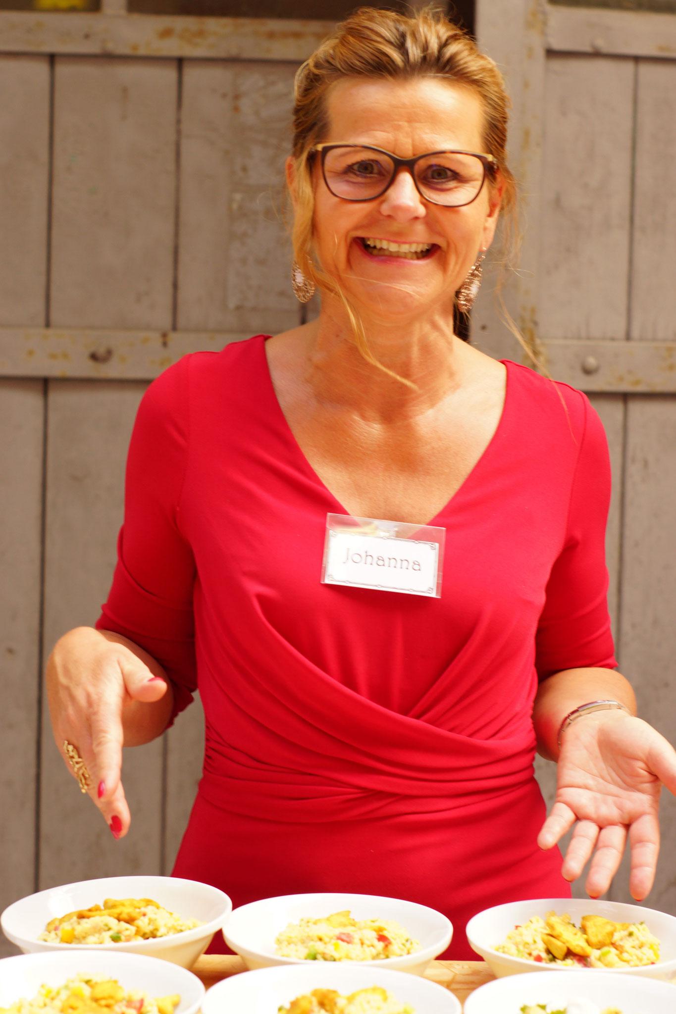 Unsere Ehrenamtlichen Helfer - Vielen Dank an Johanna!