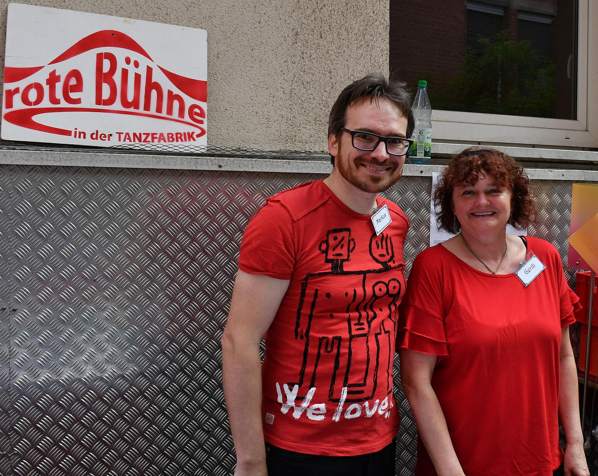 Unsere Ehrenamtlichen Helfer - Vielen Dank an Markus & Gerdi