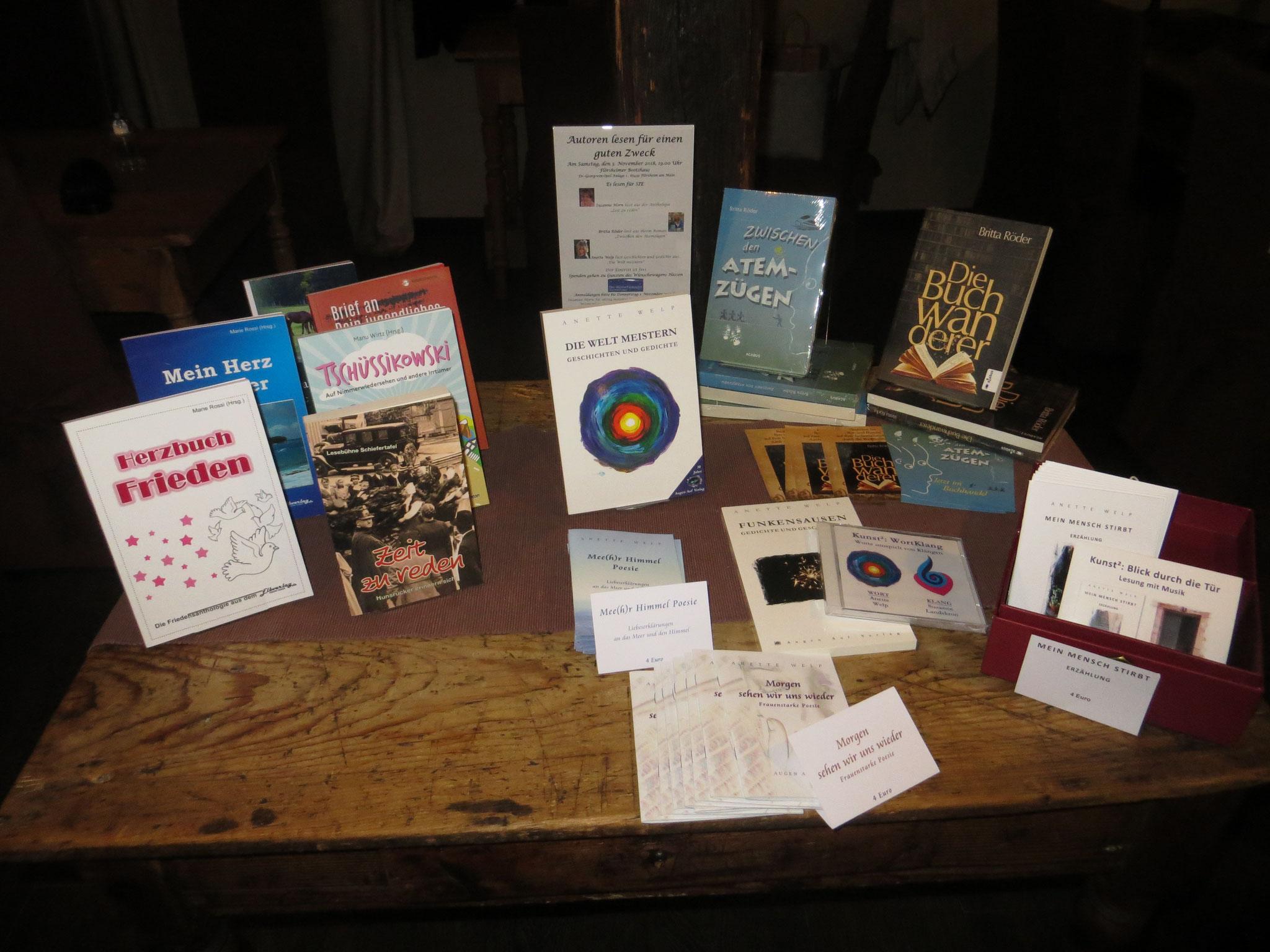 Unser Büchertisch