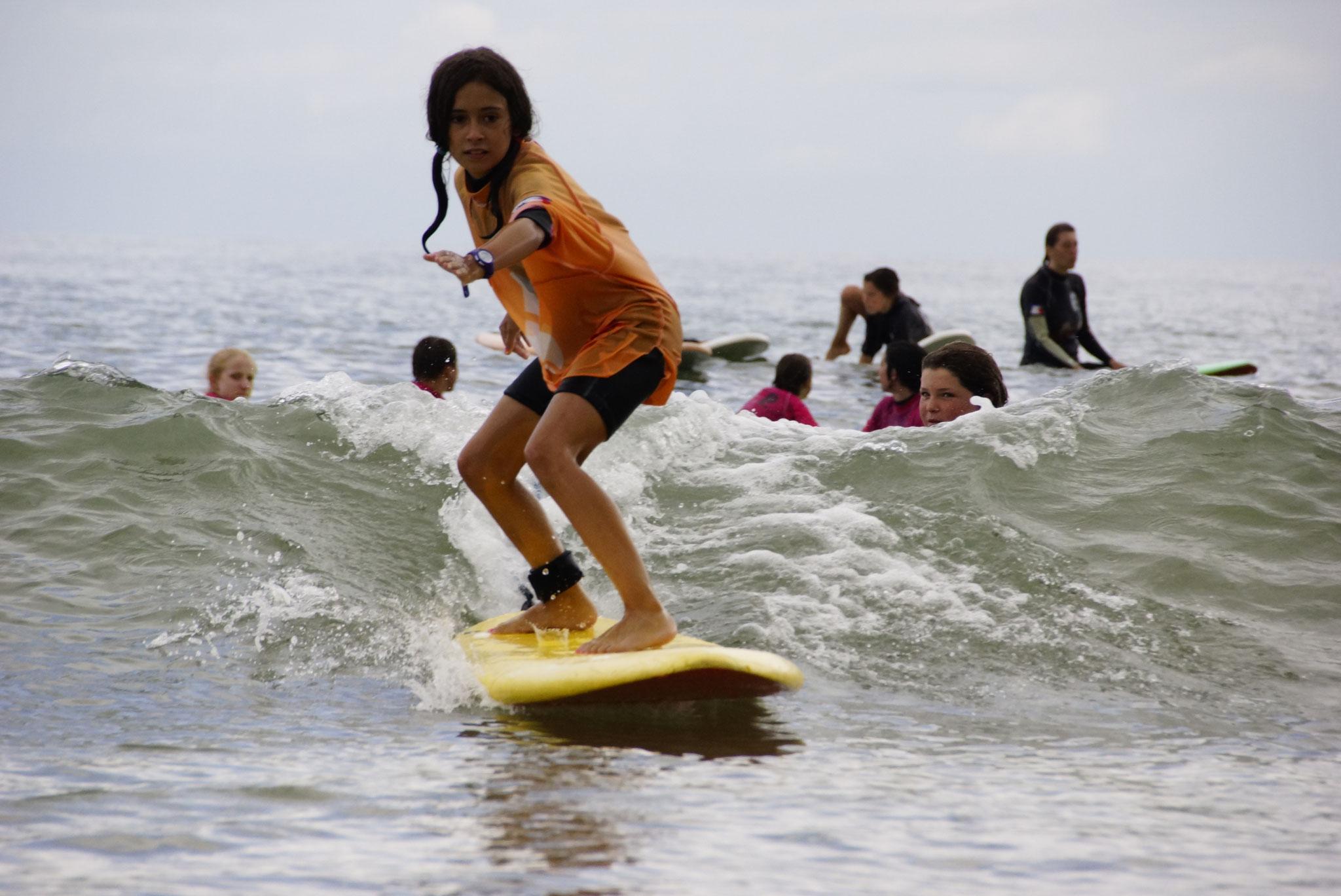Surf à partir de 8 ans