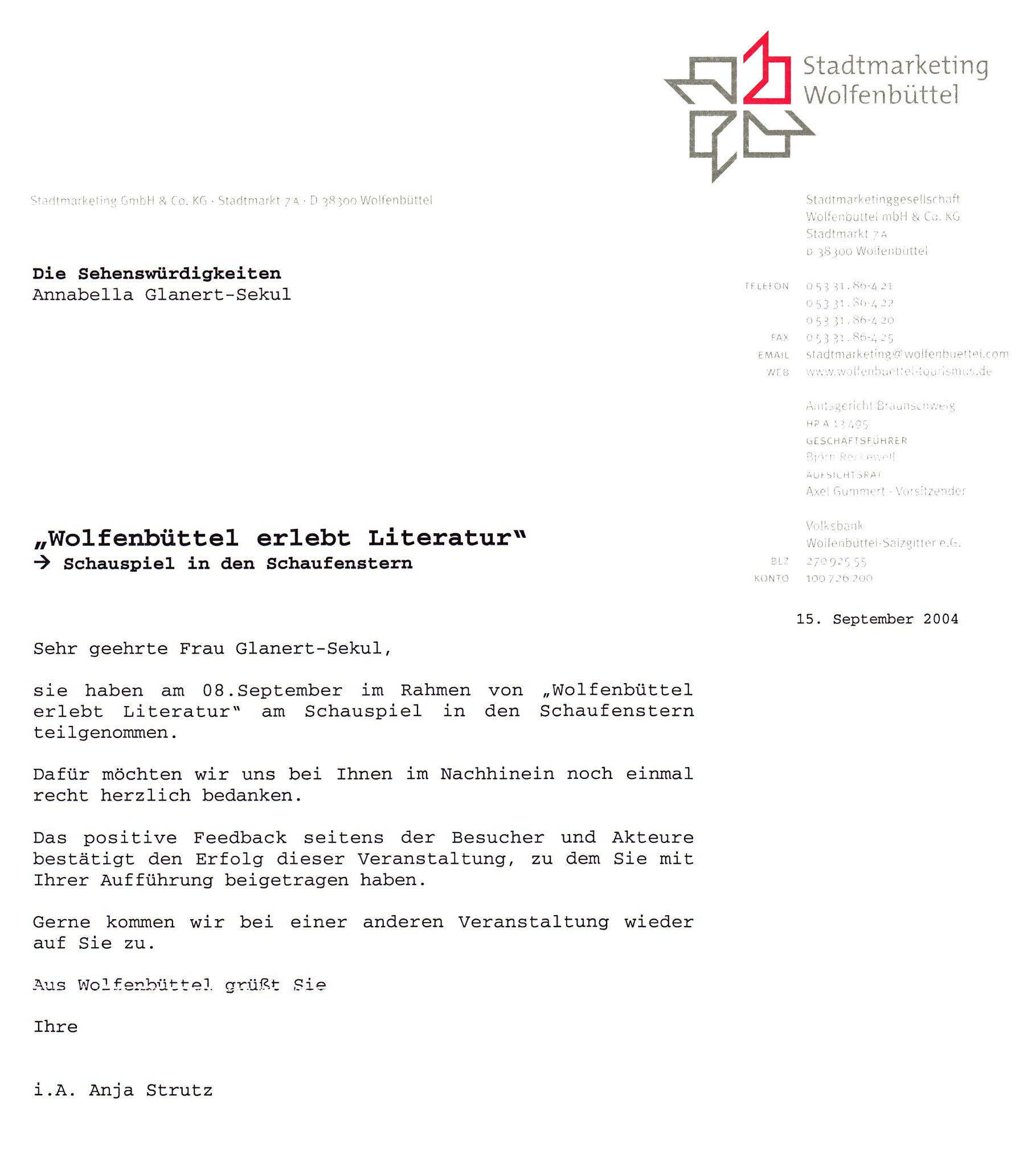 Stadtmarketing Wolfenbüttel