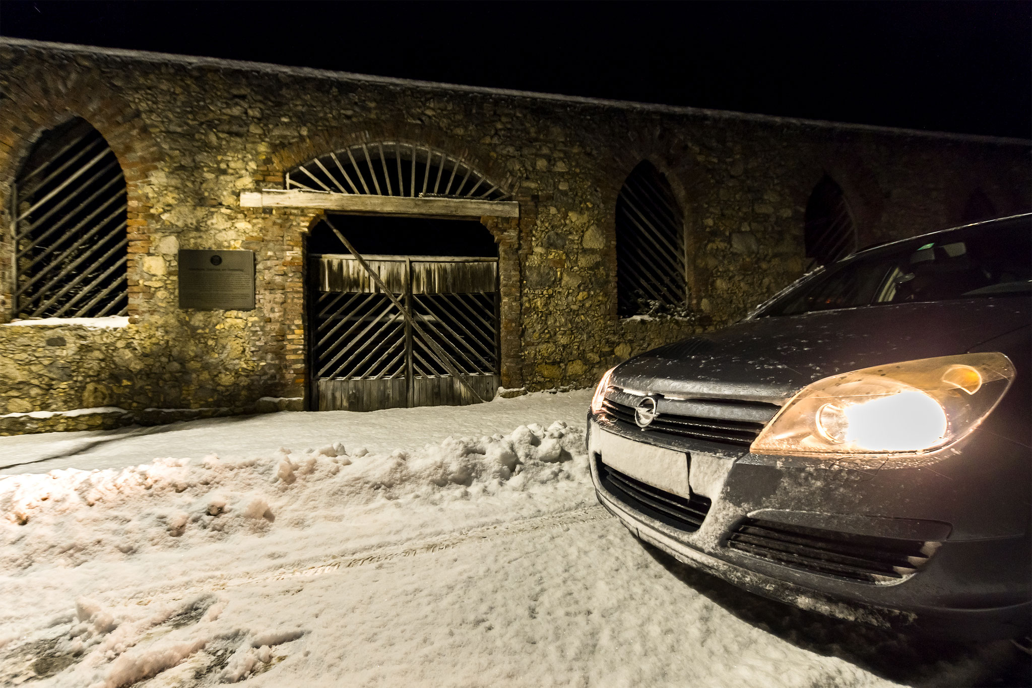 Sunra: Schnee-Rallye am Pfaffensattel