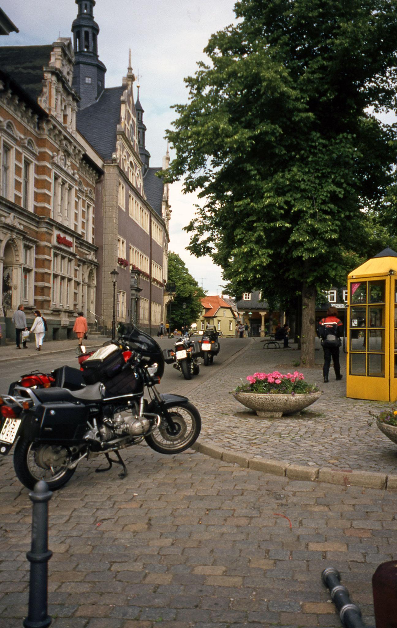 """in der """"Bachstadt"""" Arnstadt"""