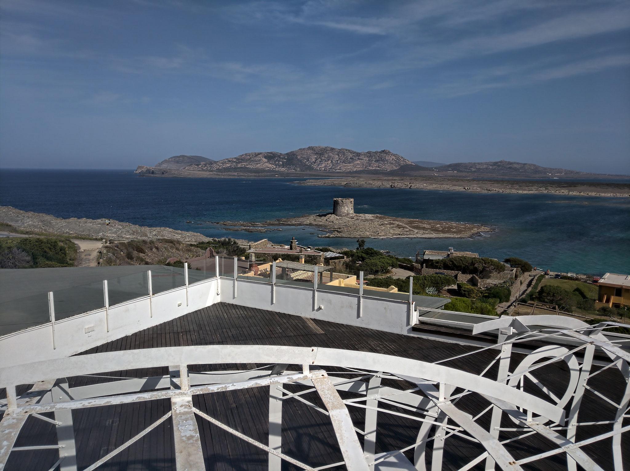 ... und La Pelosa mit Isola Piana