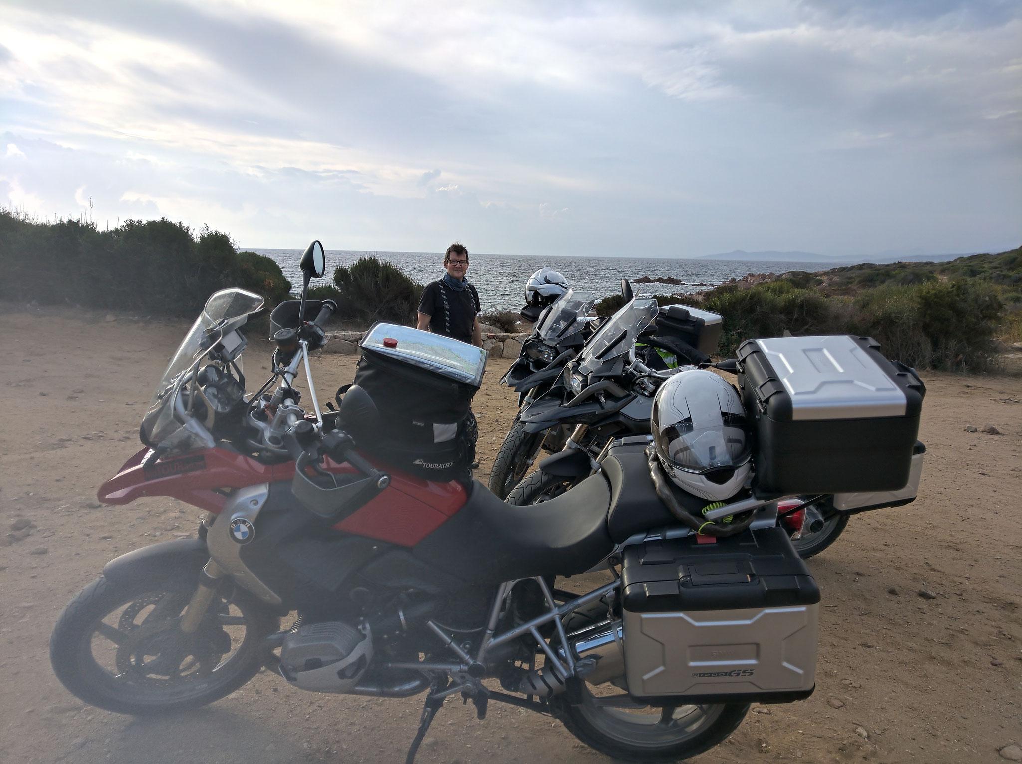 an der Spiaggia di Capo Coda Cavallo