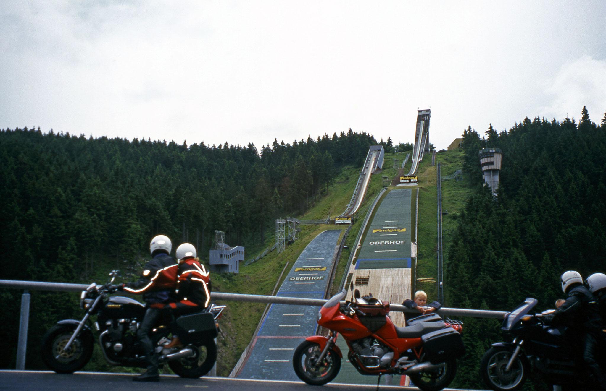 """Anfahren am Berg"" in Oberhof, Thüringen"