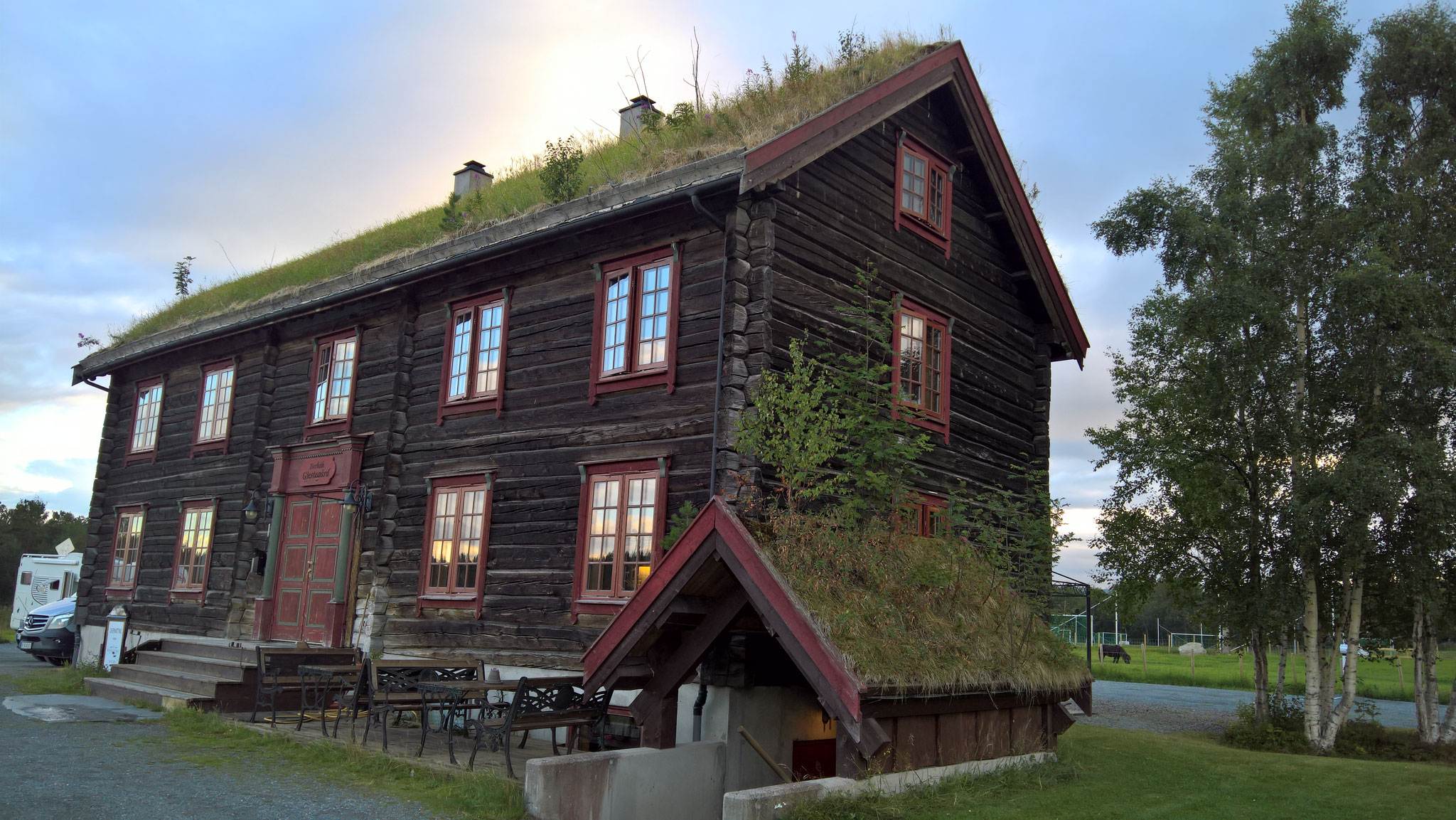 Hotel in Berkak (Nebengebäude)