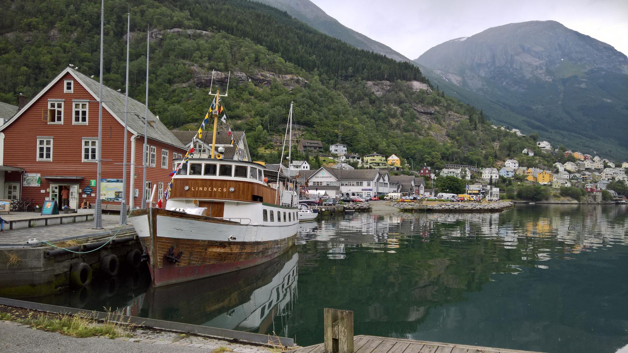 Odda, am südlichen Ende des Hardangerfjordes