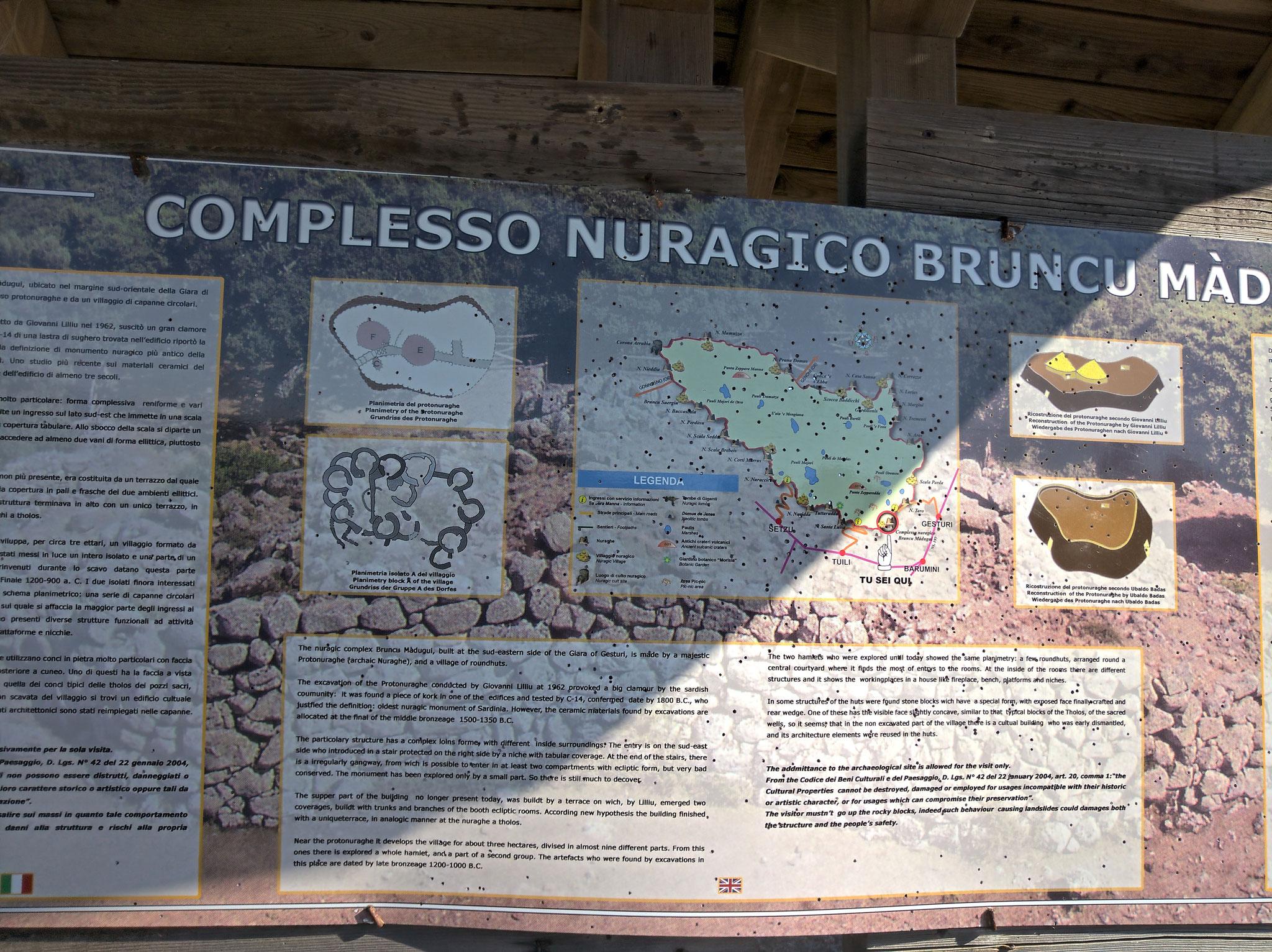 auf der Giara di Gesturi (einer Basalthochebene u.a. mit  Wildpferden), ...