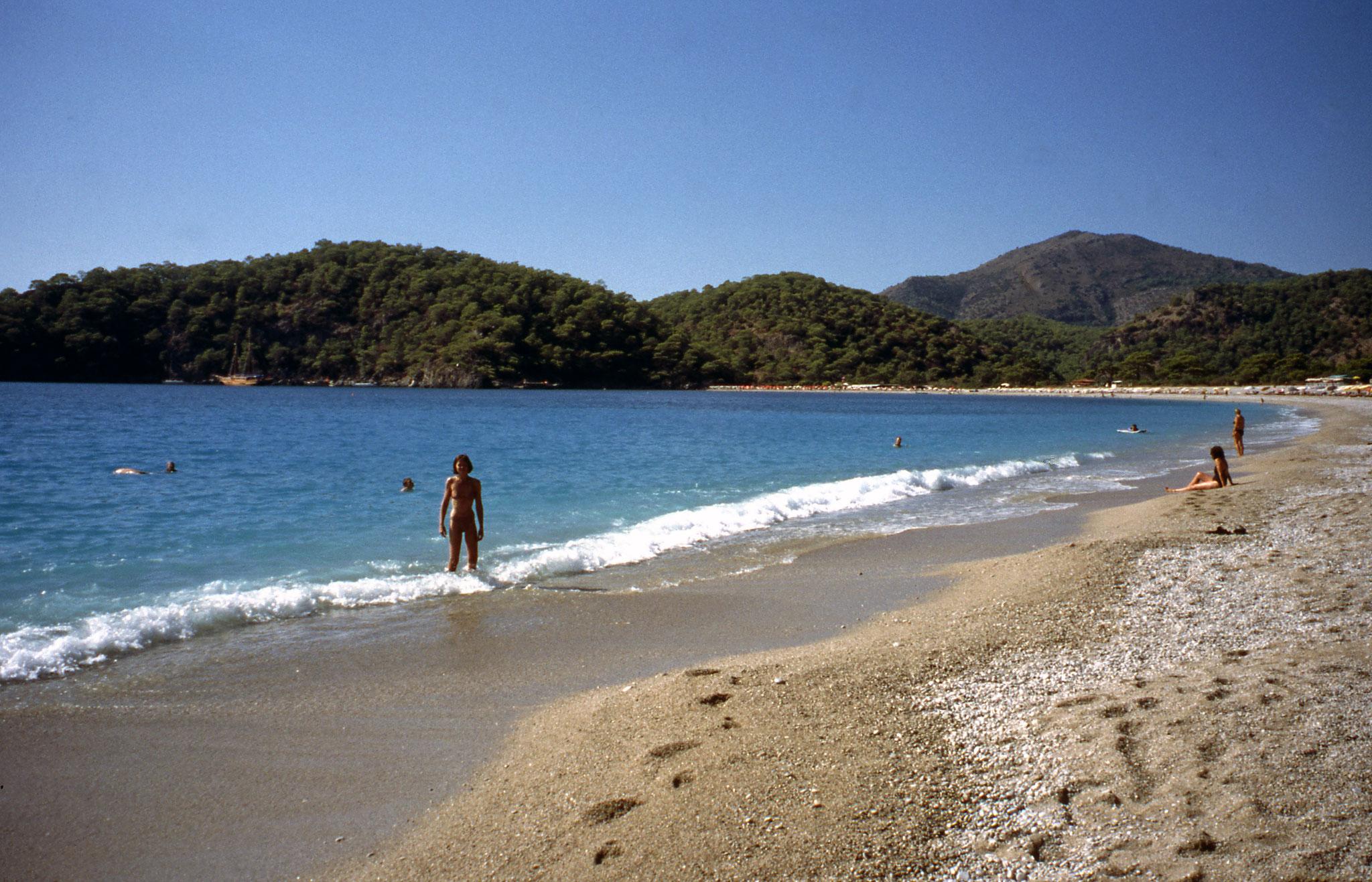 Strandtag bei Fethiye