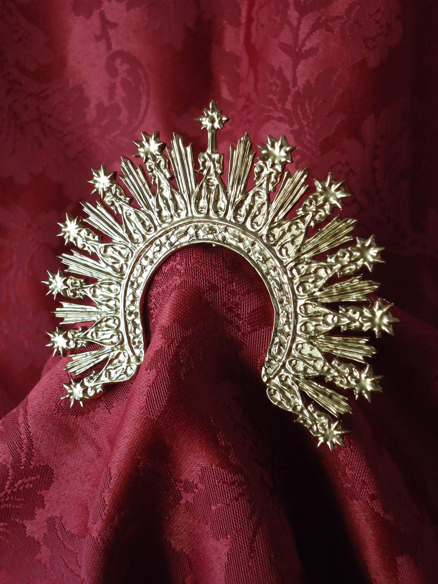 Diadema Soledad Arganda del Rey (Madrid) para Virgen de 25 cm