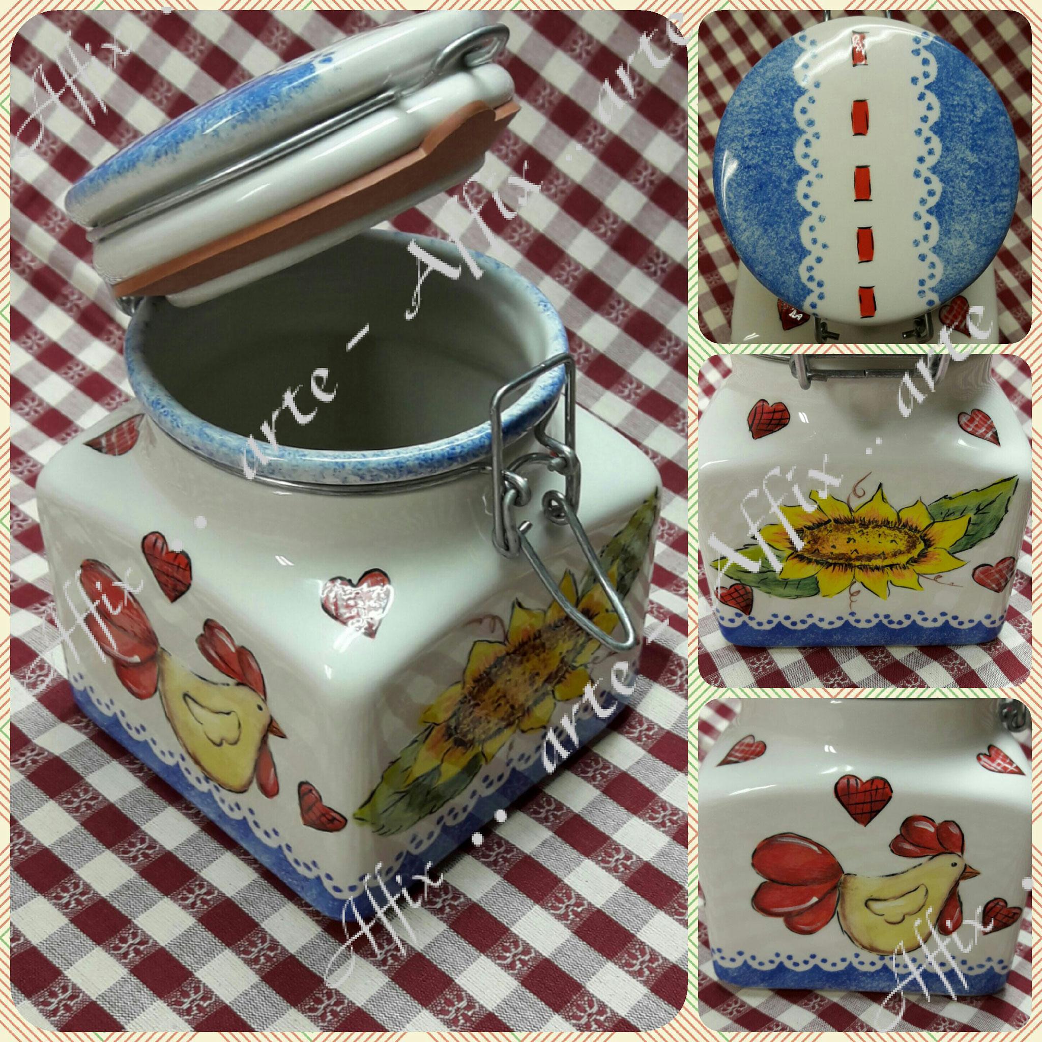 Barattoli cucina - Benvenuti su Sabry Art and Craft!