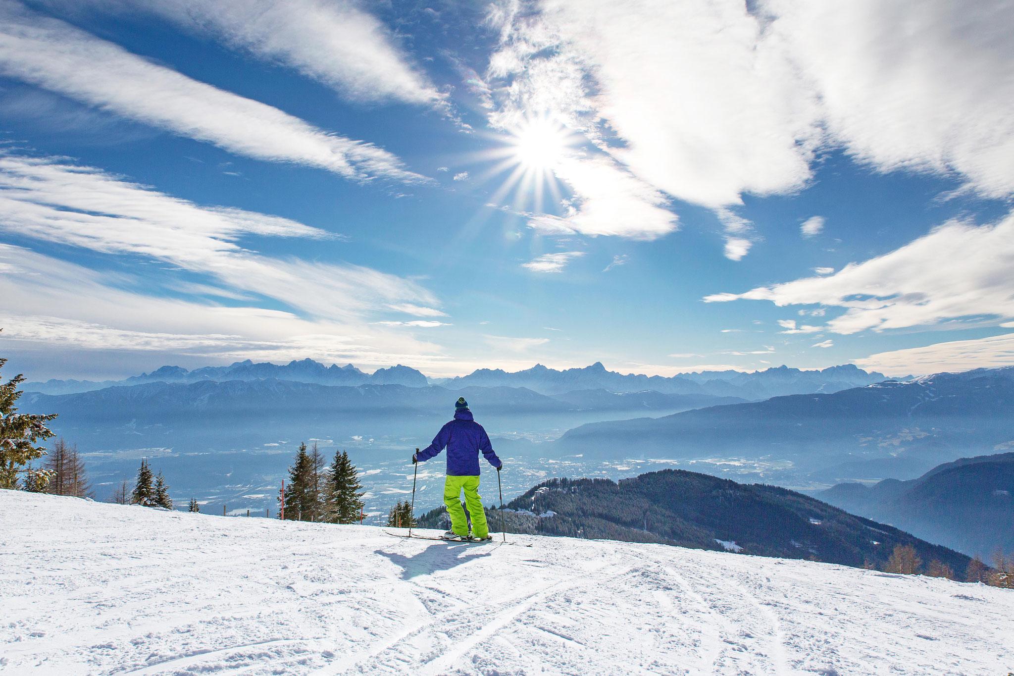 Skifahren auf der Gerlitze