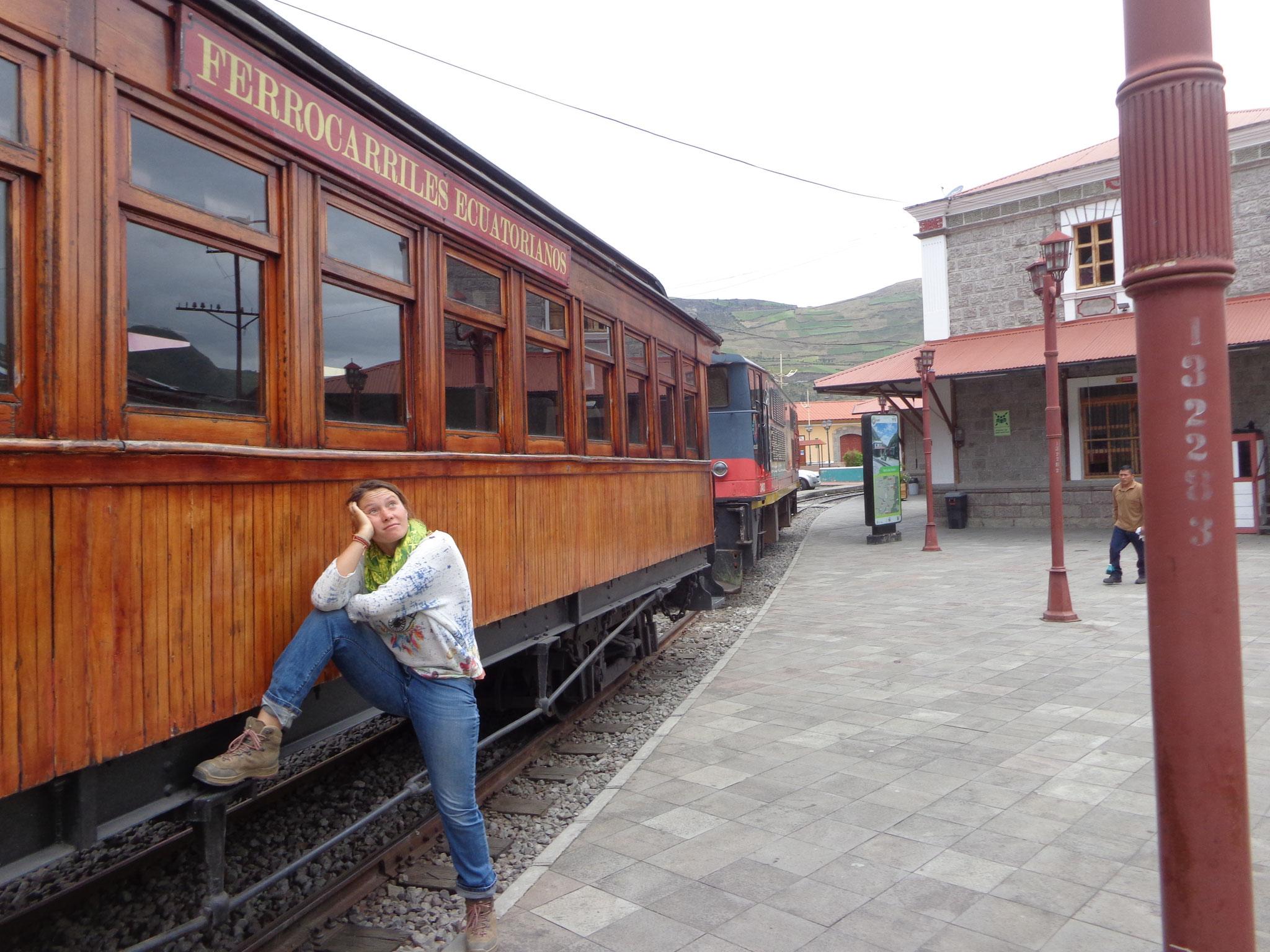Train touristique a Alausi