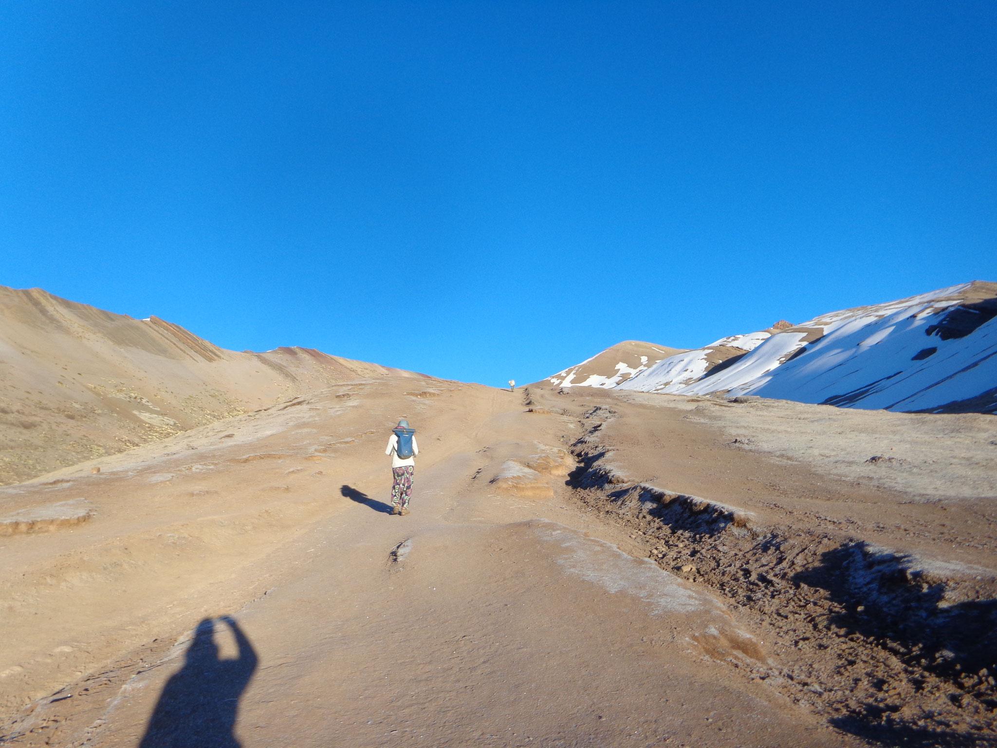 L'ascension de la montagne aux 7 couleurs