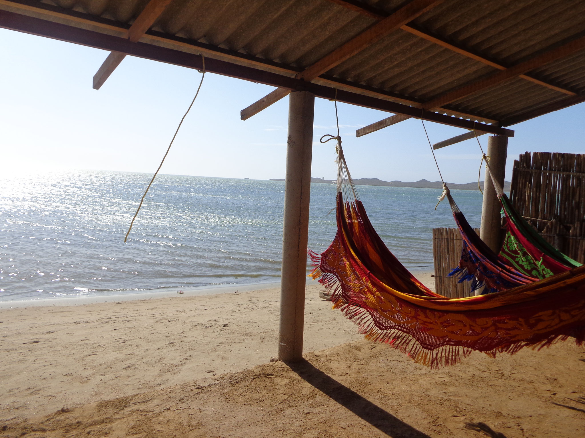 Hotel hamac dans le desert de la Guajira