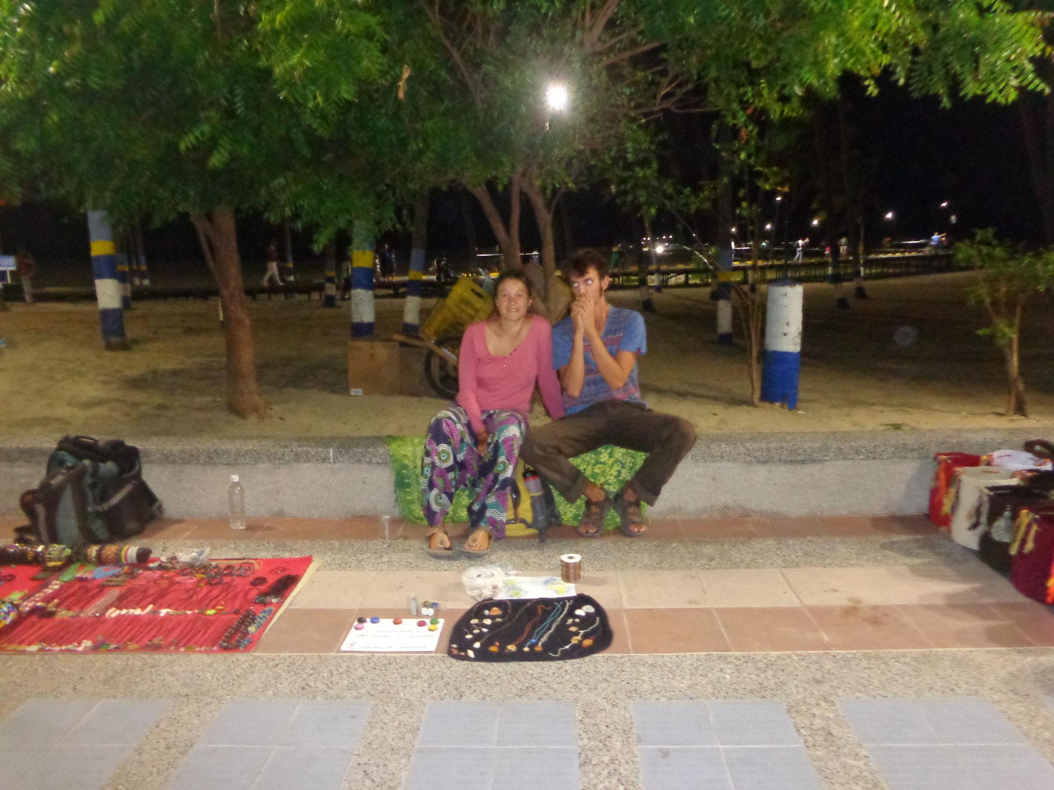 Notre stand ambulant a Riohacha