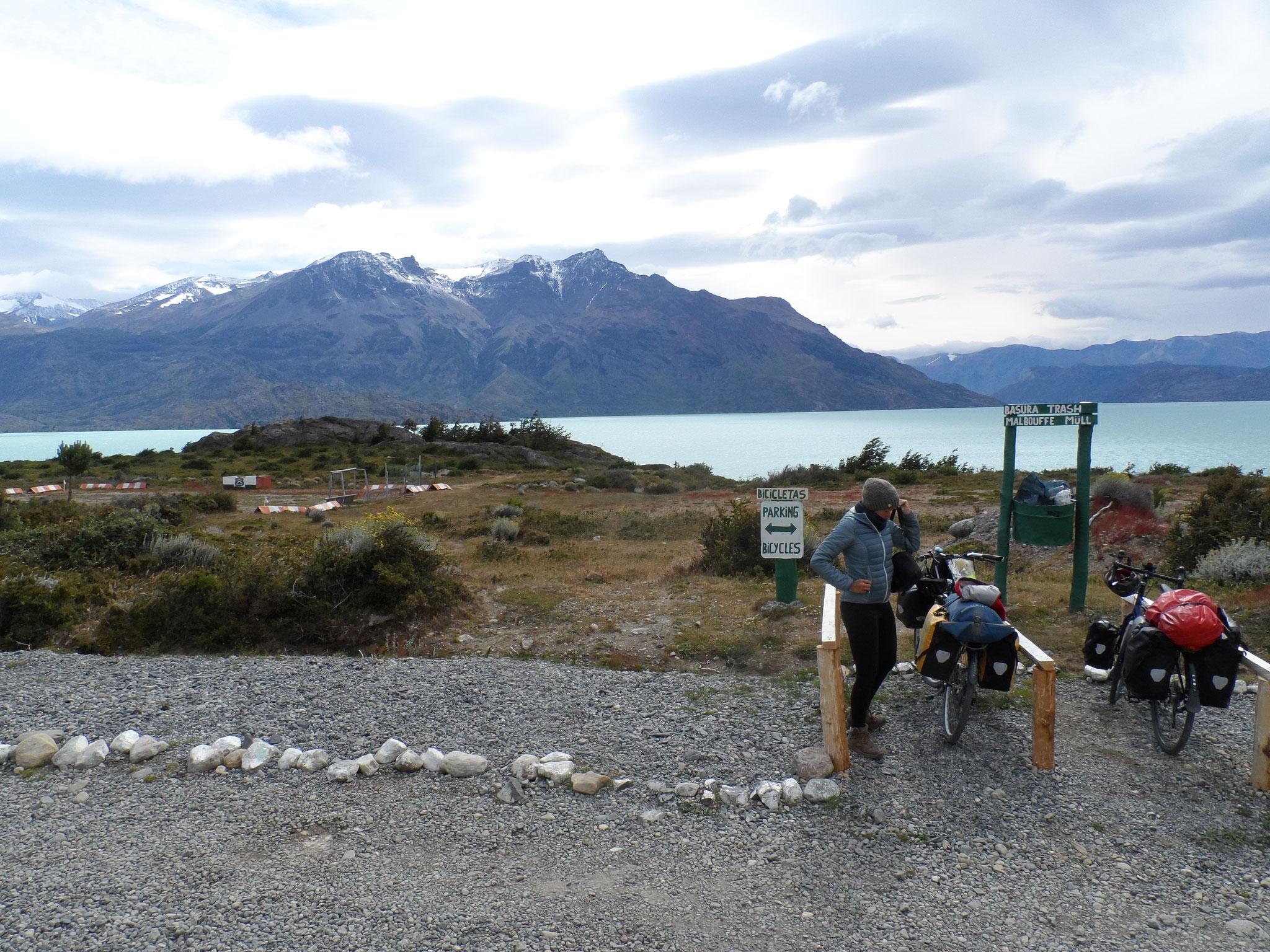Vue panoramique au poste frontiere