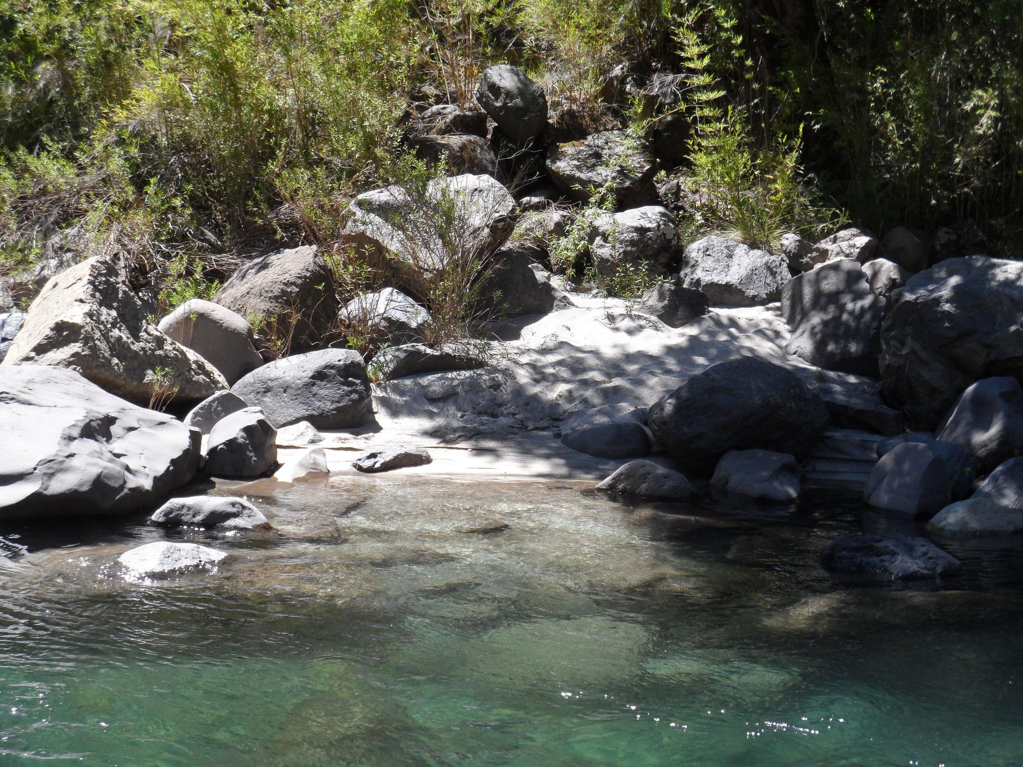 El Rio Claro, qui porte bien son nom !