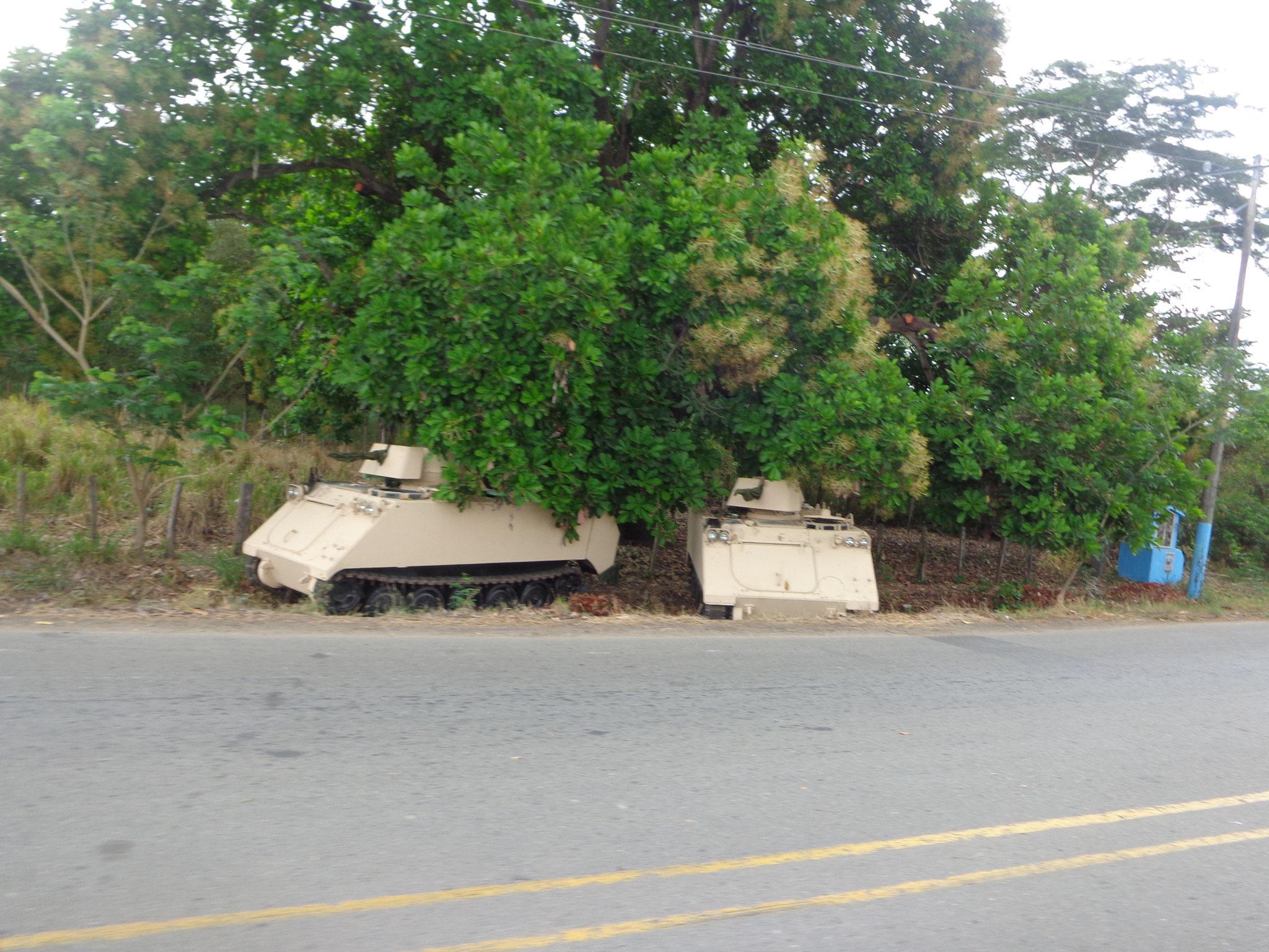 Les barrages militaires tous les 10km