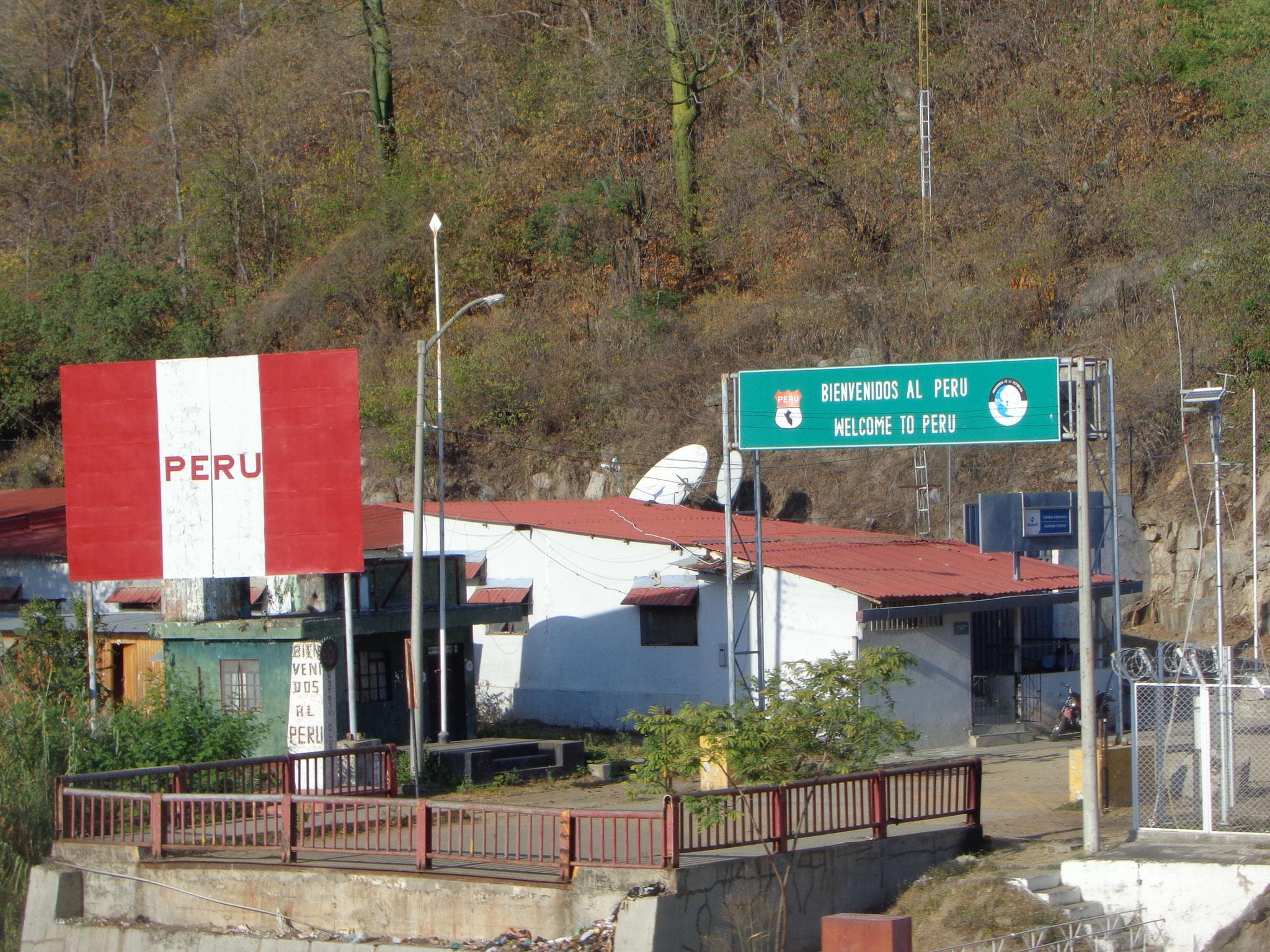 La frontiere ecuador - peru