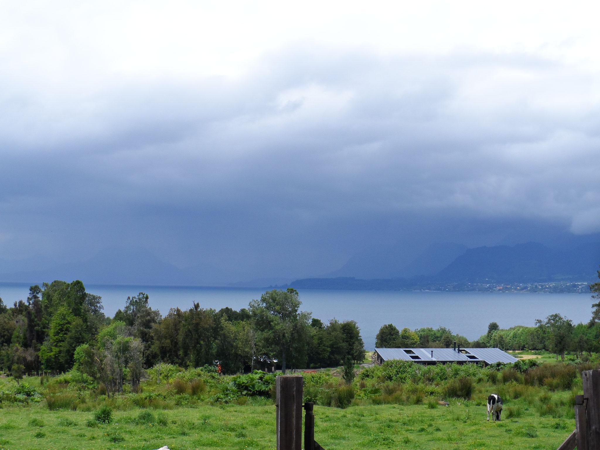 le gris et la pluie sont avec nous