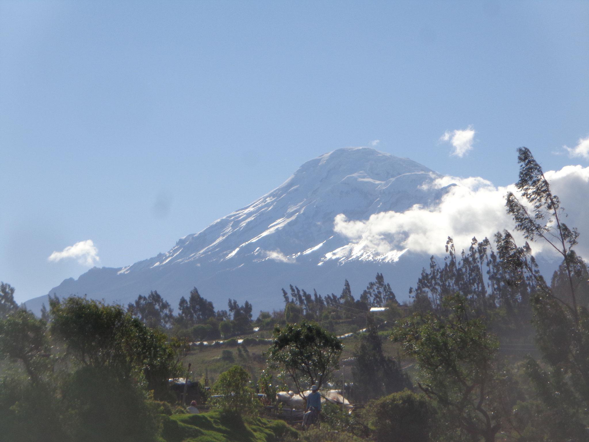 Un autre volcan, le Chimborazo