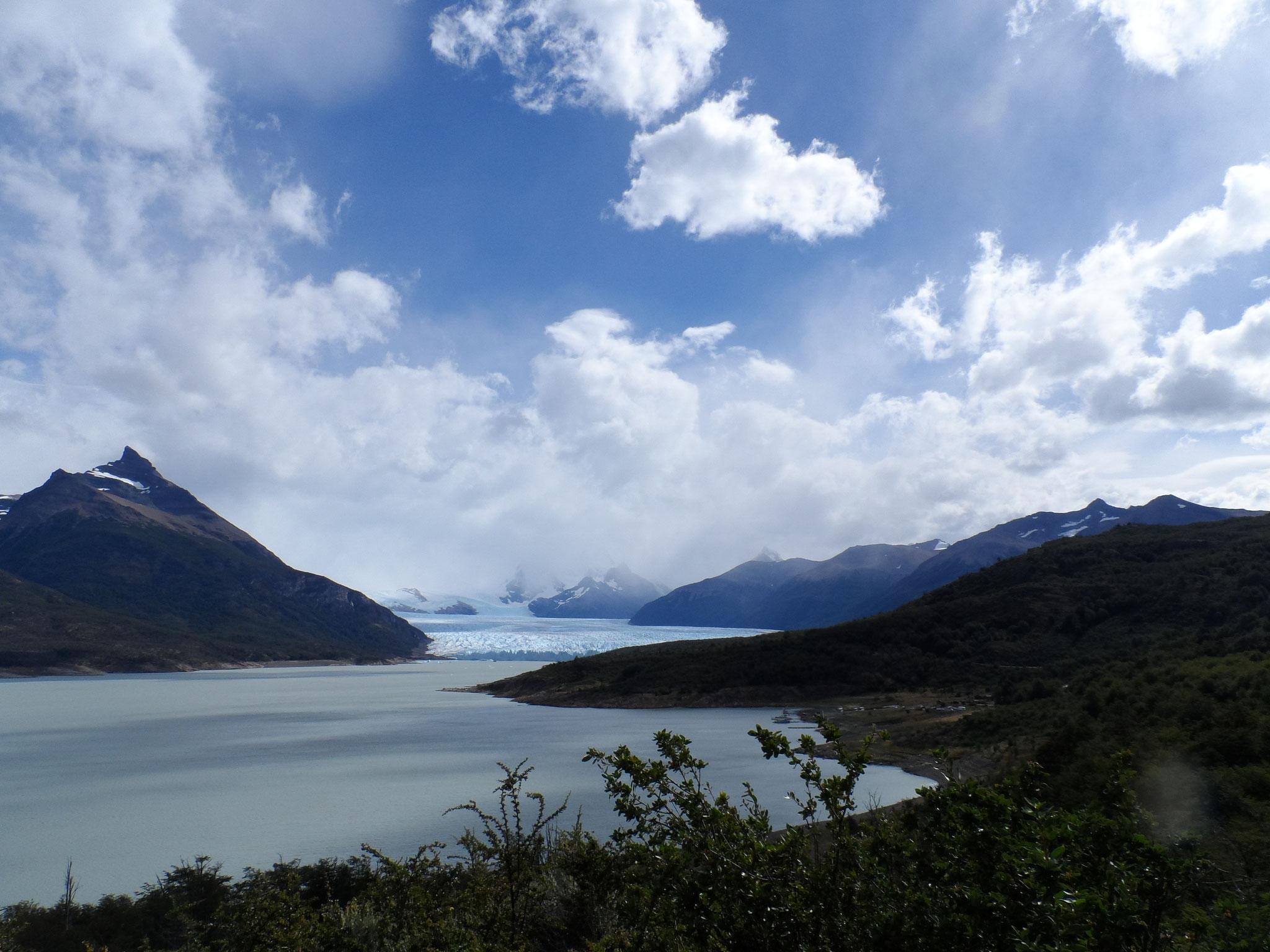 visite du  glacier dit Perito Moreno
