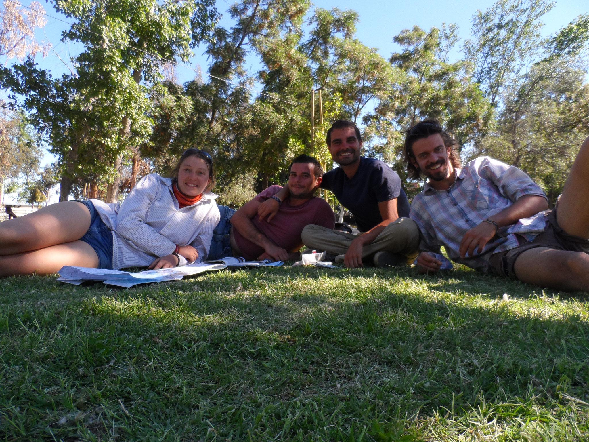 Retrouvailles avec Elie et Thibaud