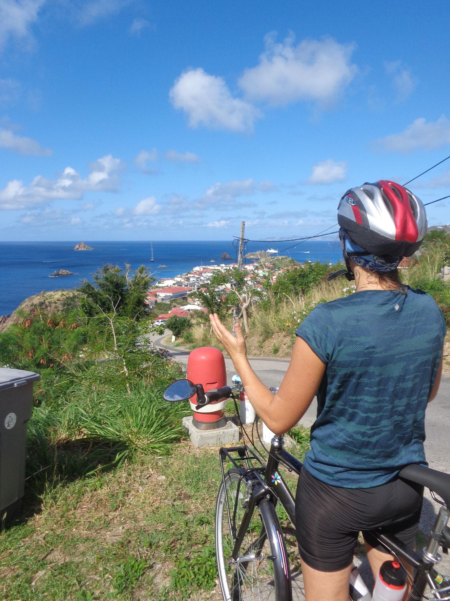 Première escapade à vélo, ça grimpe dur!