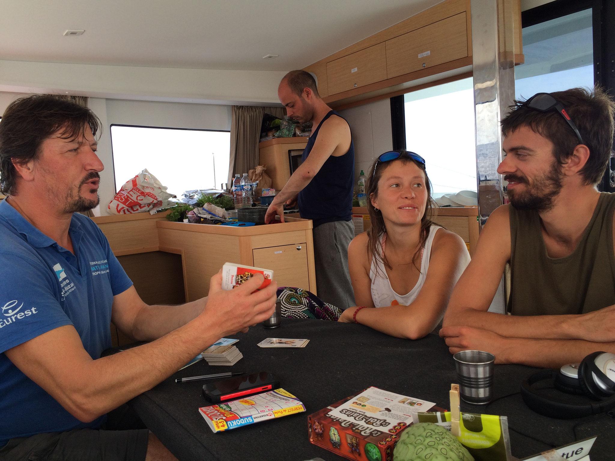 Parties de cartes