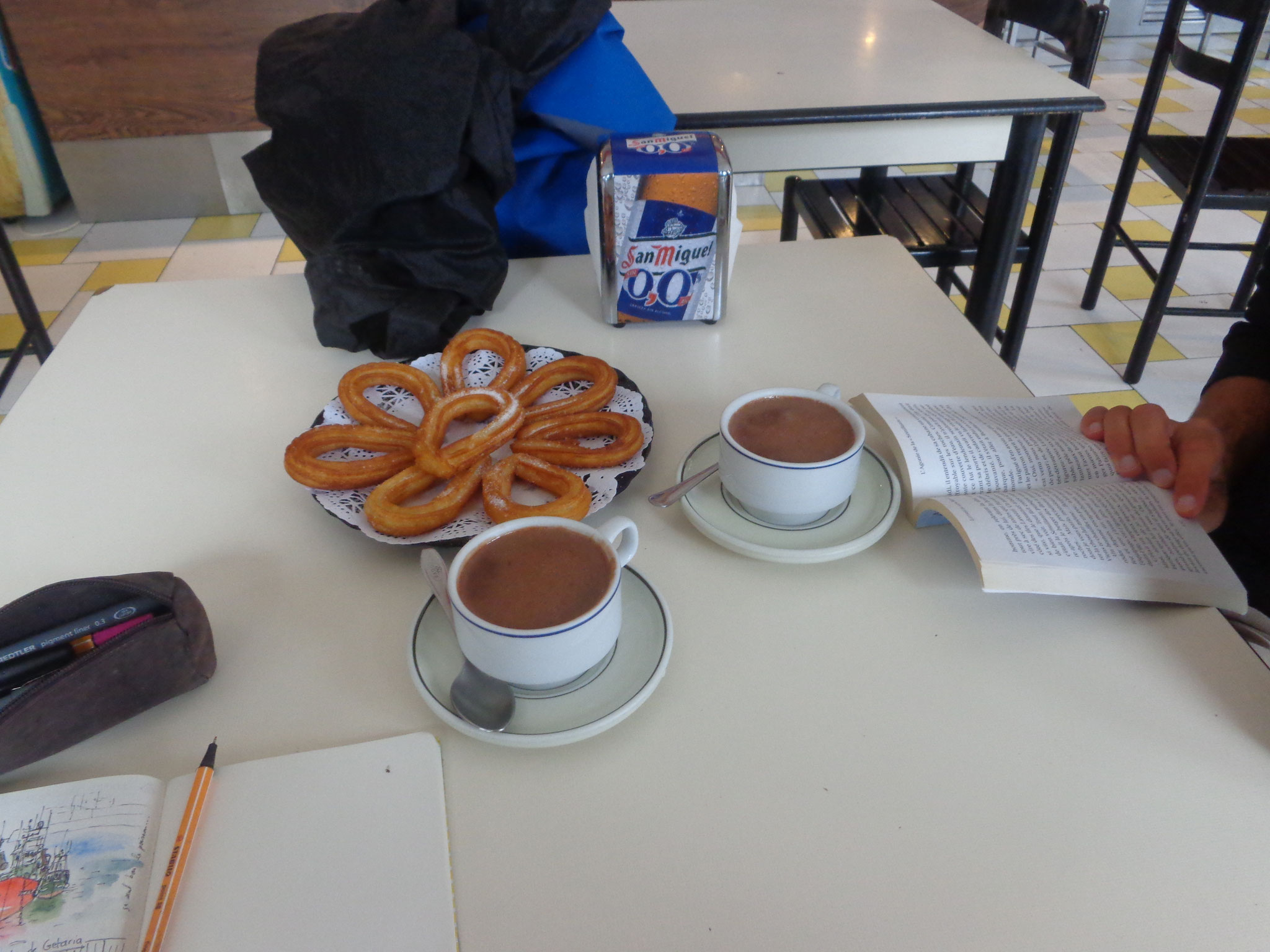 et Chocolate con Churros