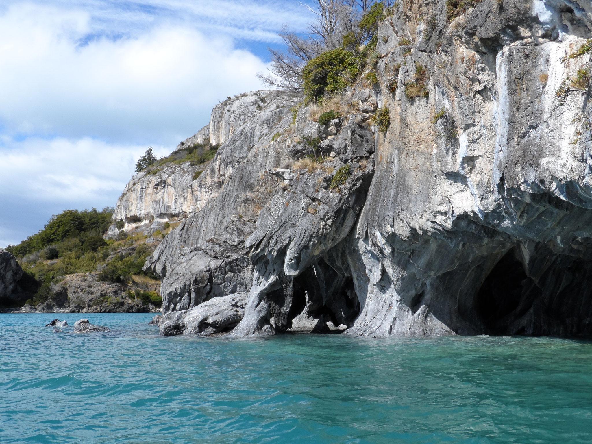 Les marmols de Puerto Rio Tranquillo