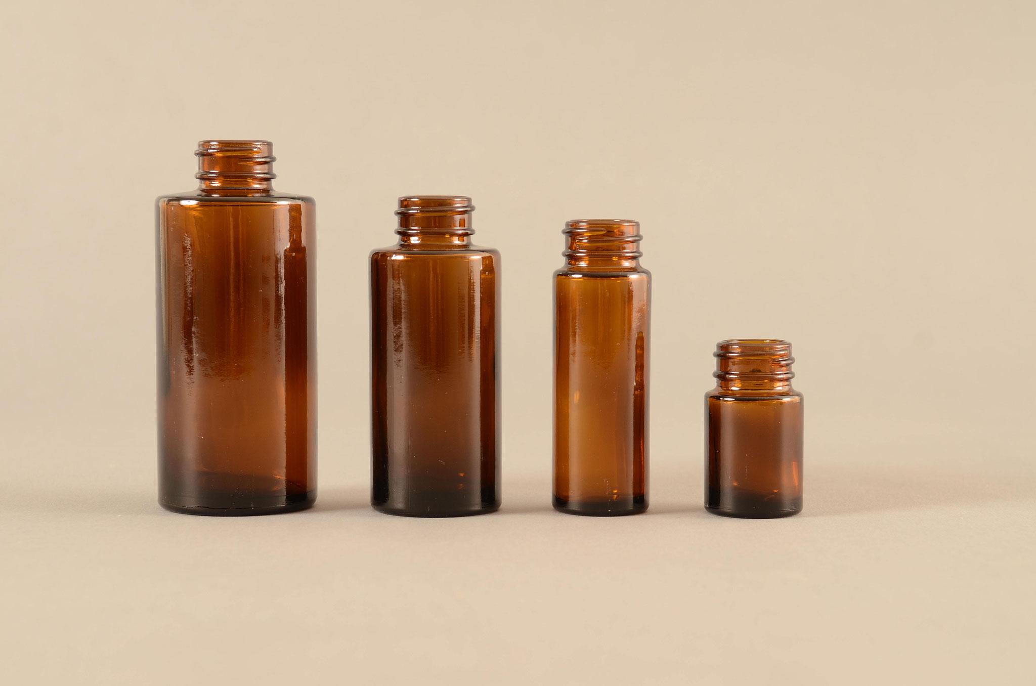 Aus dem TREFFPACK Sortiment - Zylindrische Flaschen