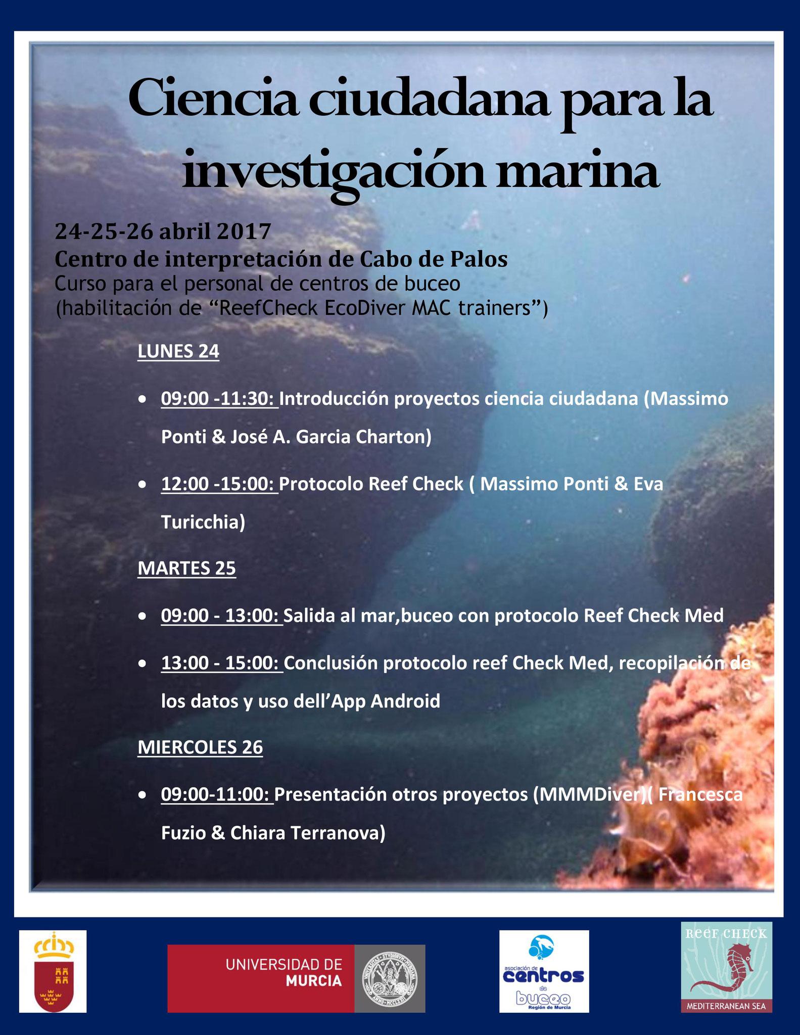 Ciencia ciudadana para la investigacion marina