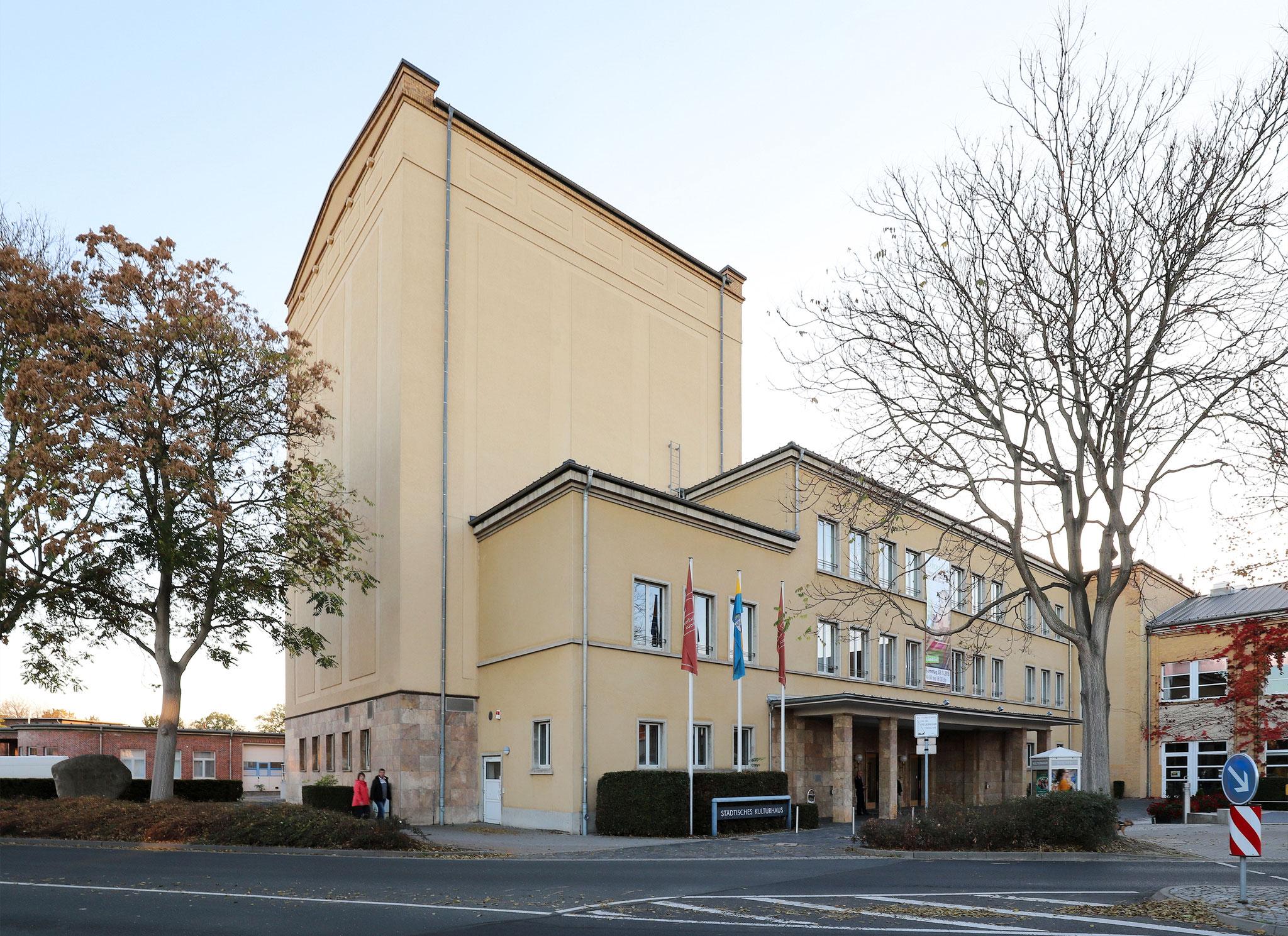 """Klubhaus der Gewerkschaften """"Sella Hasse"""" Wolfen (1927/1949)"""