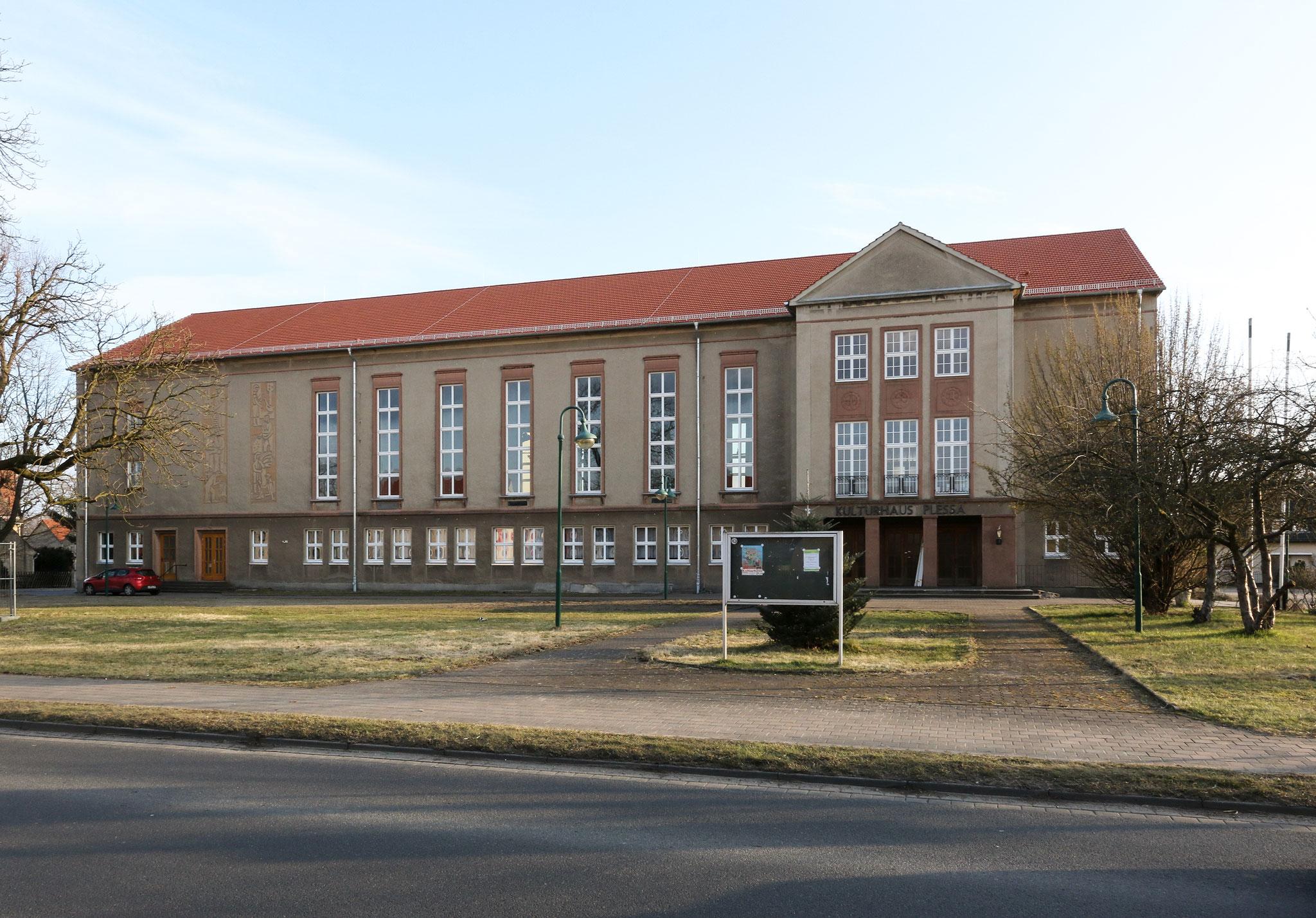 Kulturhaus Plessa (1956-58)