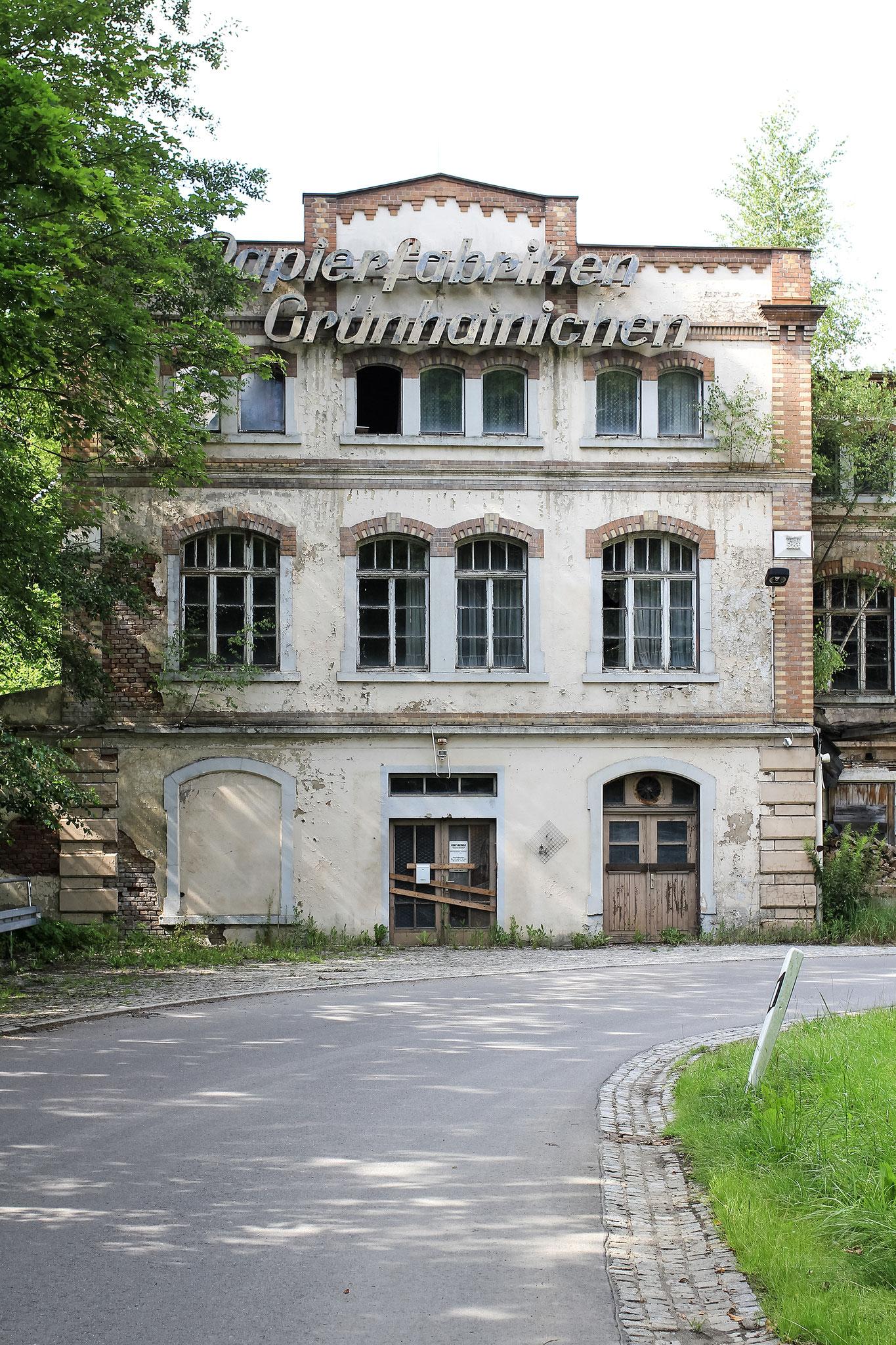 VEB Papierfabriken Grünhainichen