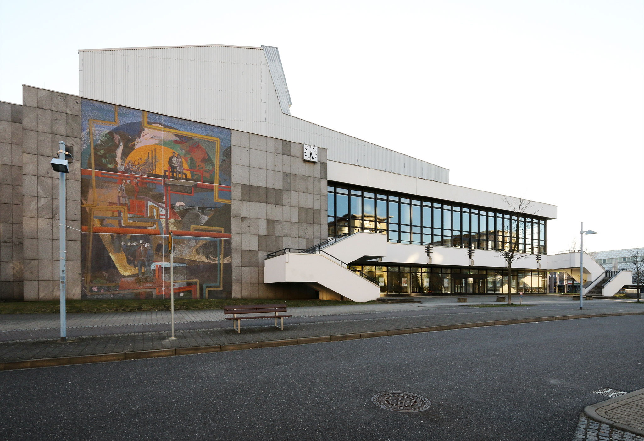 "Kulturhaus ""Haus der Berg- & Energiearbeiter"" Hoyerswerda-Neustadt (1977-84)"