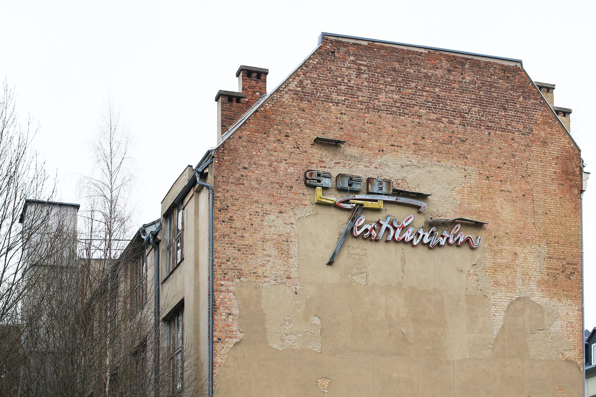 Sozialistischer Großhandelsbetrieb Textilwaren Plauen