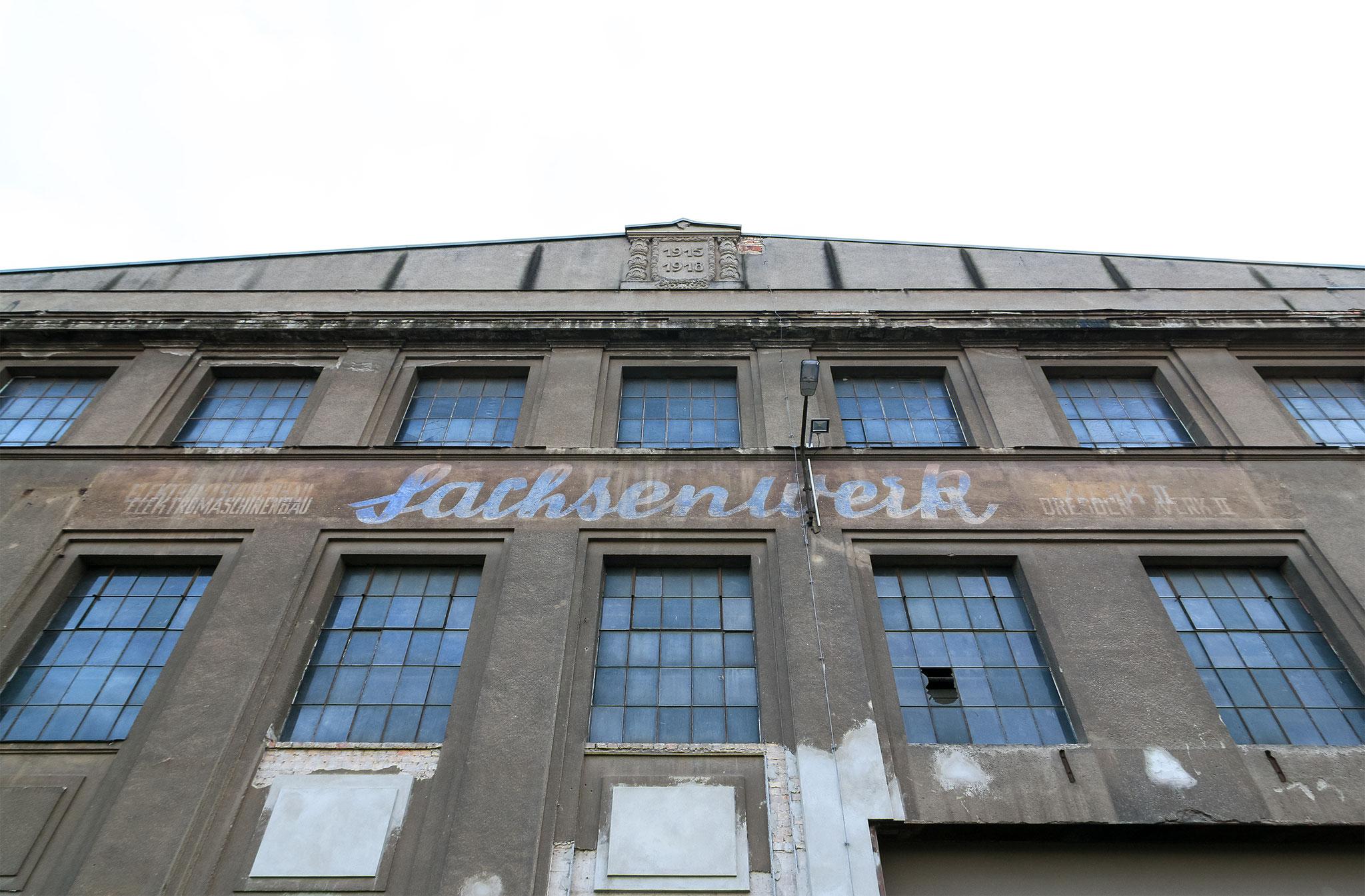 VEB Sachsenwerk Dresden Werk II Industriegelände