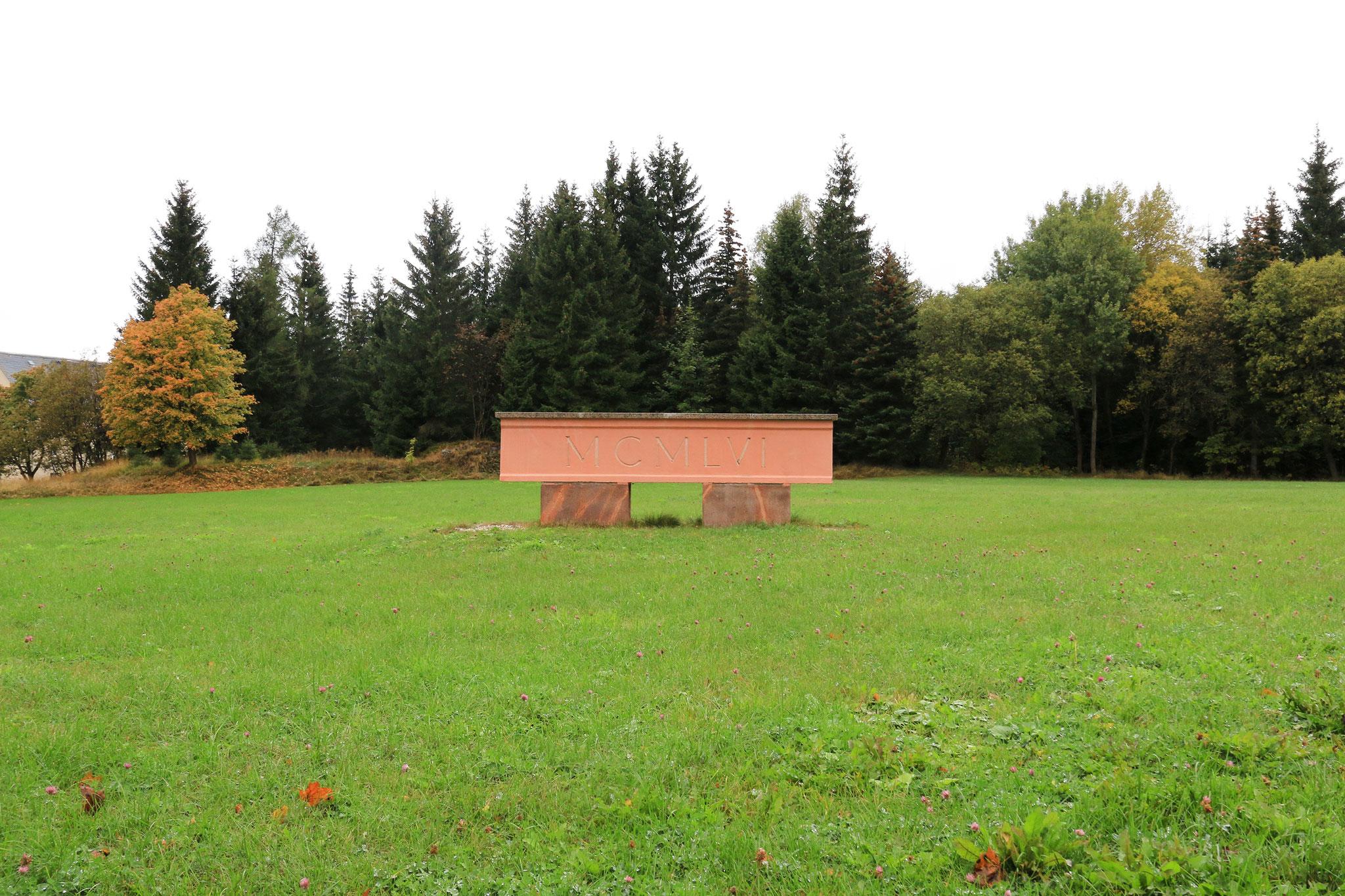 Reste des Kulturhaus Johanngeorgenstadt (1956)
