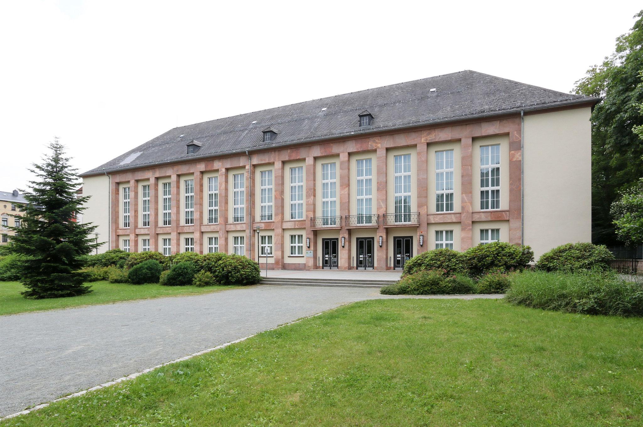 """Kulturhaus """"Ernst Thälmann"""" Aue (1957)"""
