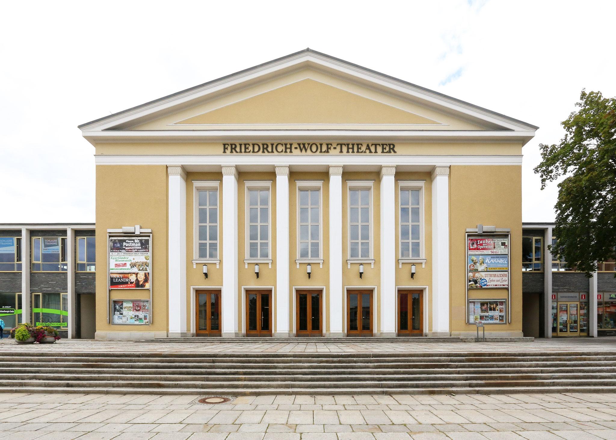 """Kulturhaus """"Friedrich Wolf"""" Eisenhüttenstadt (1955)"""