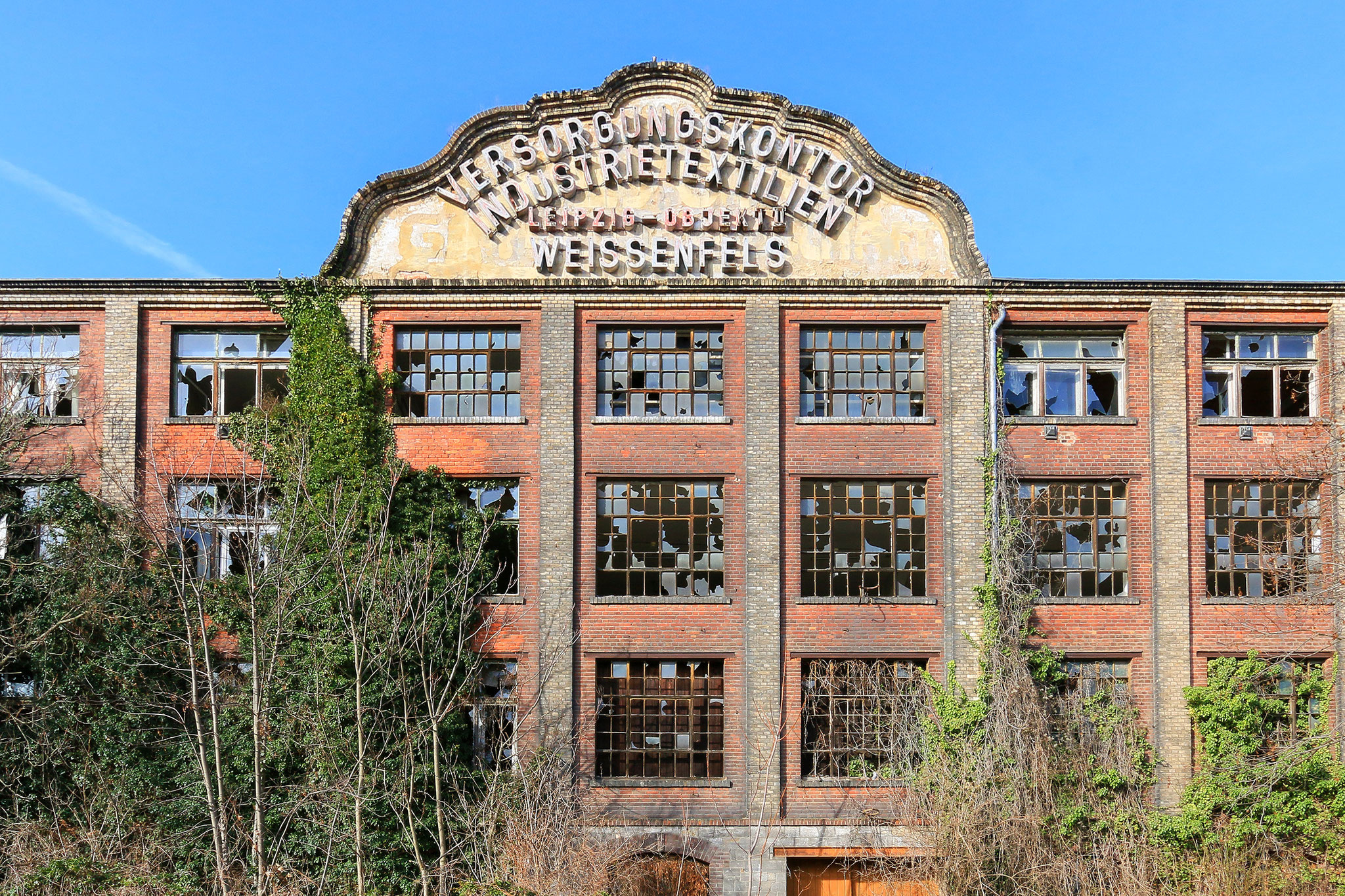 VEB Versorgungskontor Industrietextilien Leipzig-Objekt II Weißenfels